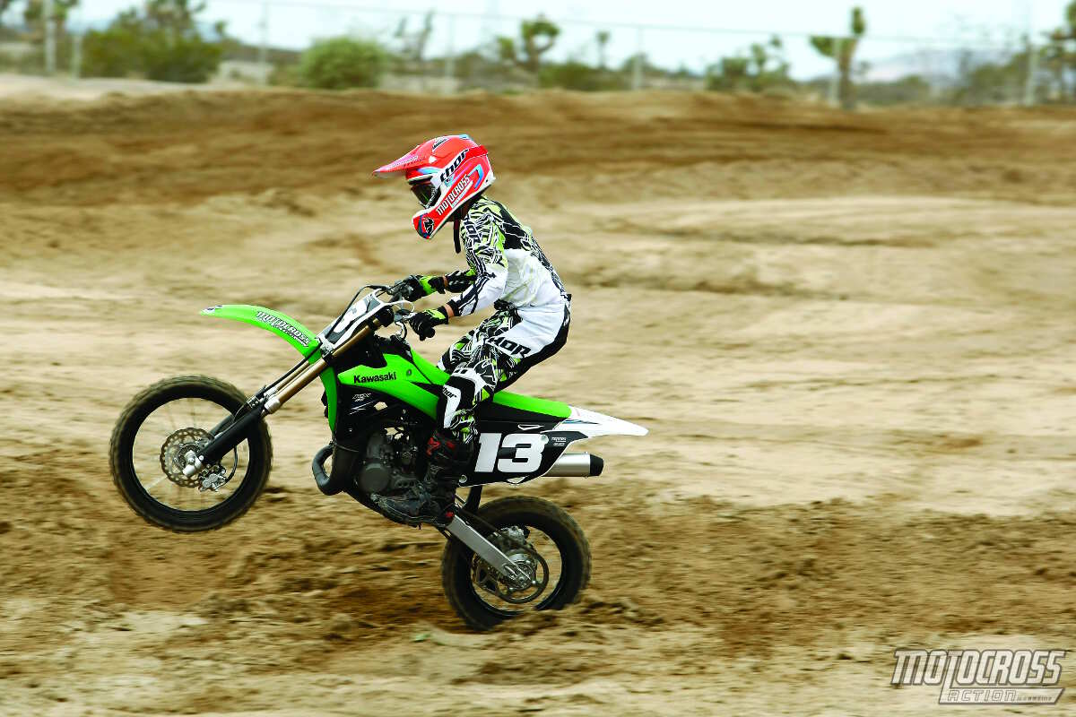 Kawasaki KX 85 II 2006 wallpapers #160549