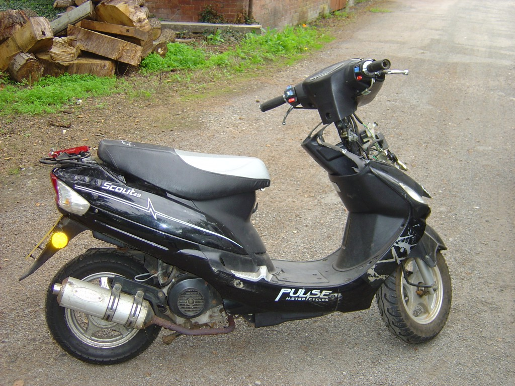 Kymco Scout ZX 50 2002 images #101392