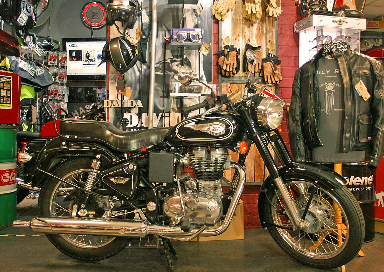 Royal Enfield Bullet 500 Army 1992 images #123389