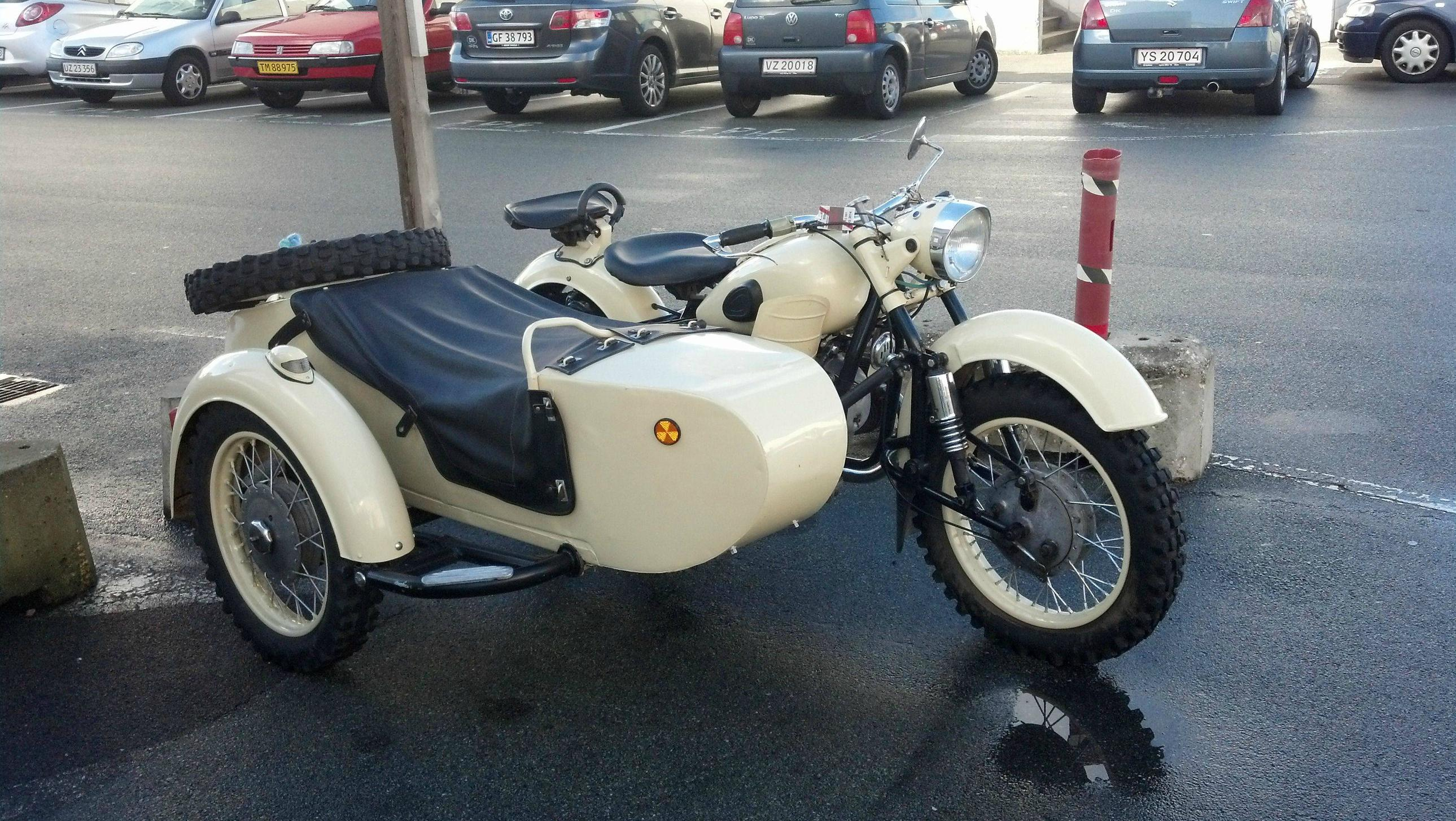 Ural M-63 with sidecar 1974 images #127428