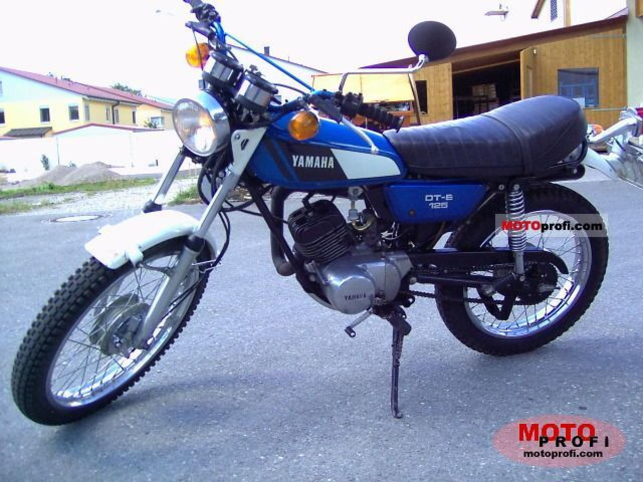 Yamaha DT 125 E 1974 wallpapers #136344