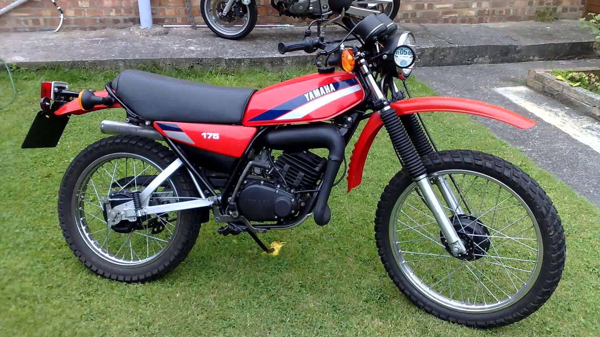 1982 yamaha dt 175 mx pics specs and information for Yamaha 175 sho