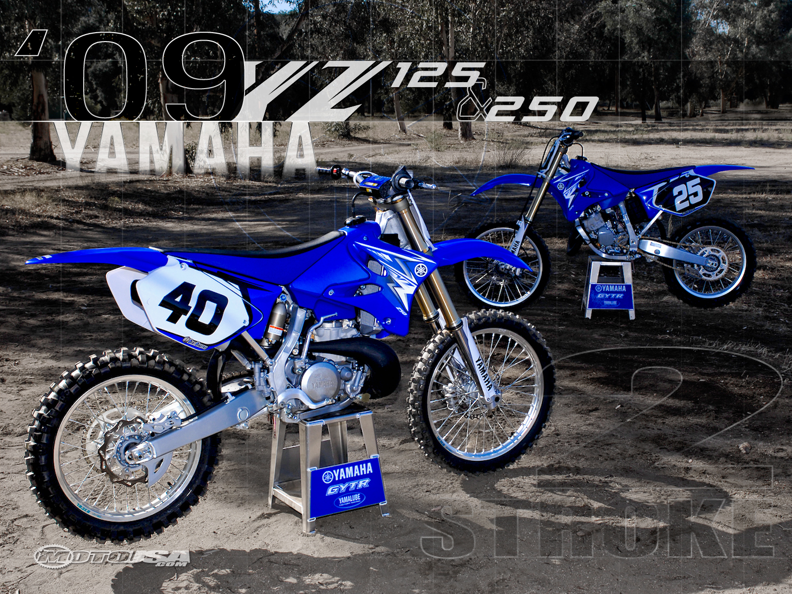 Yamaha YZ 125 1997 wallpapers #136246