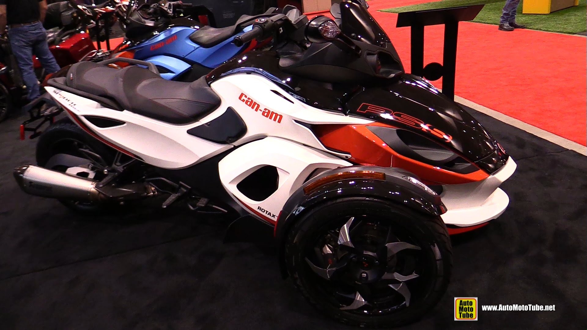 Can-Am Spyder RS-S 2014 images #153604