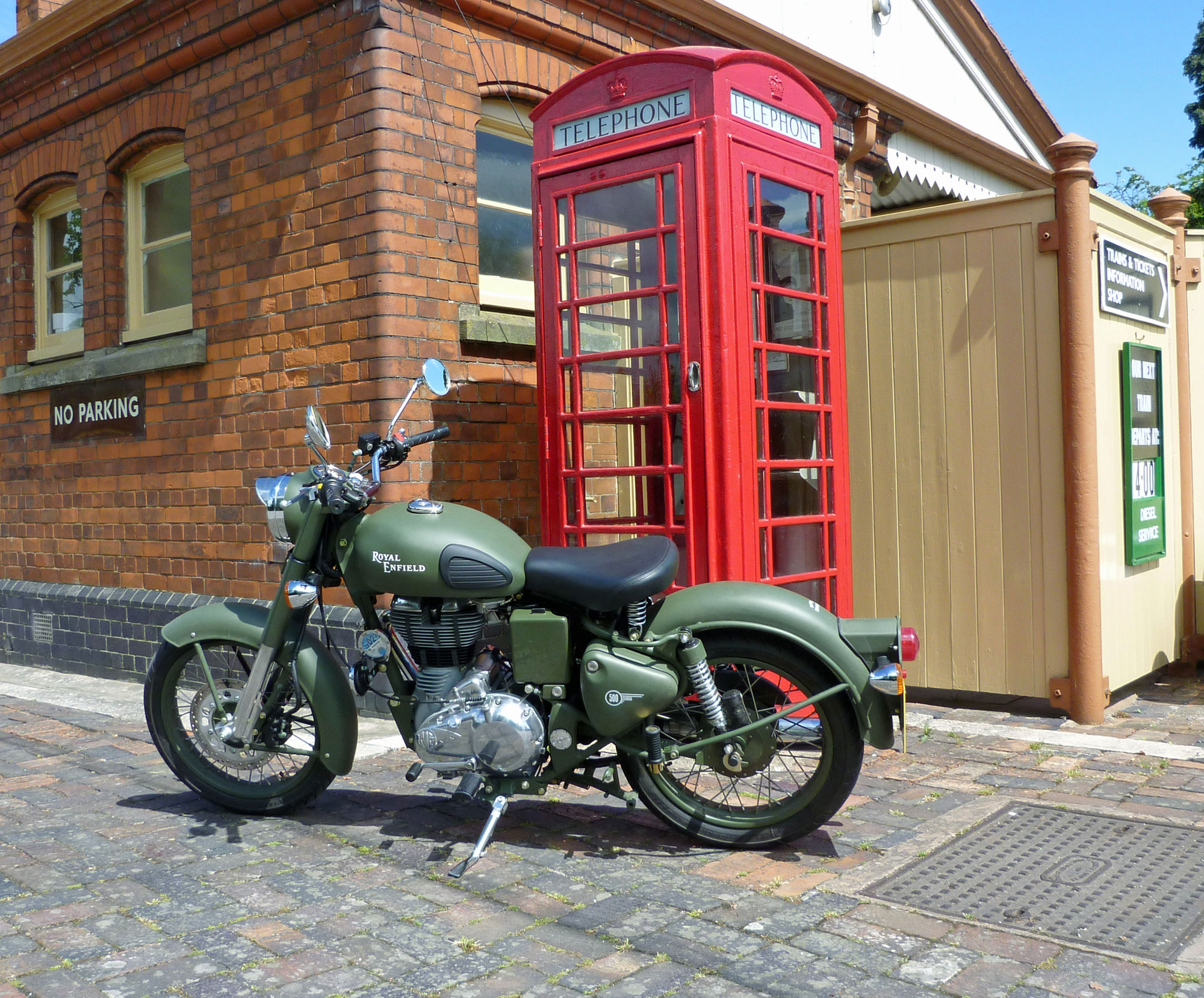 Royal Enfield Bullet 500 Army 1992 images #123390