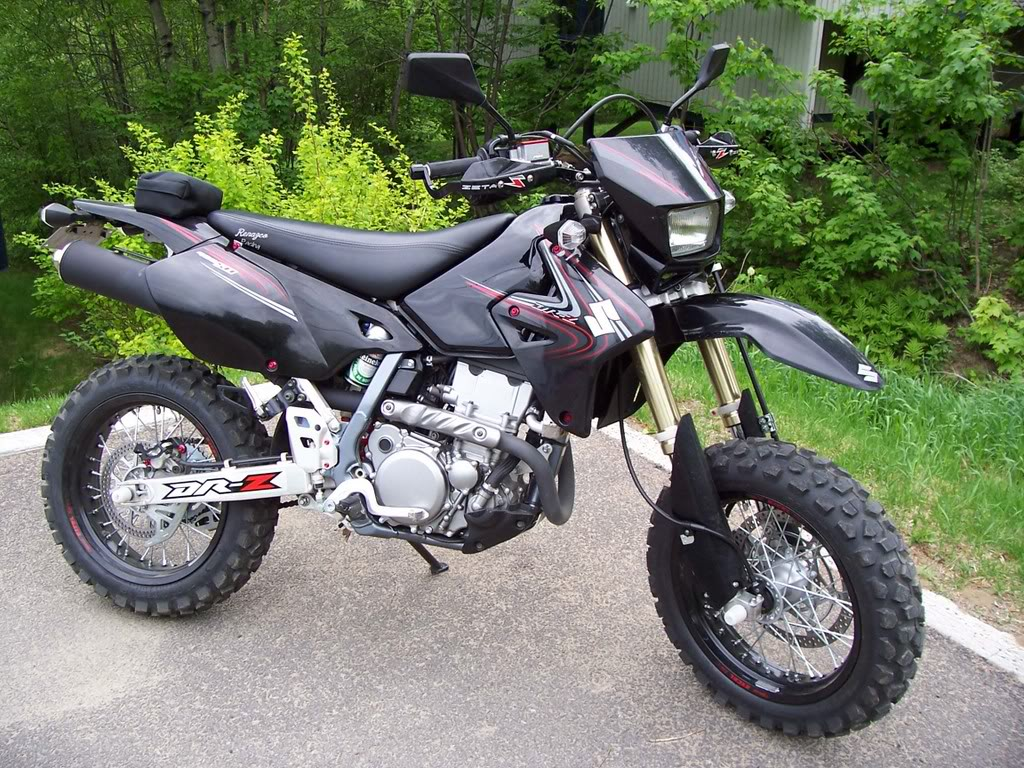2005 suzuki dr z 400 s pics specs and information. Black Bedroom Furniture Sets. Home Design Ideas