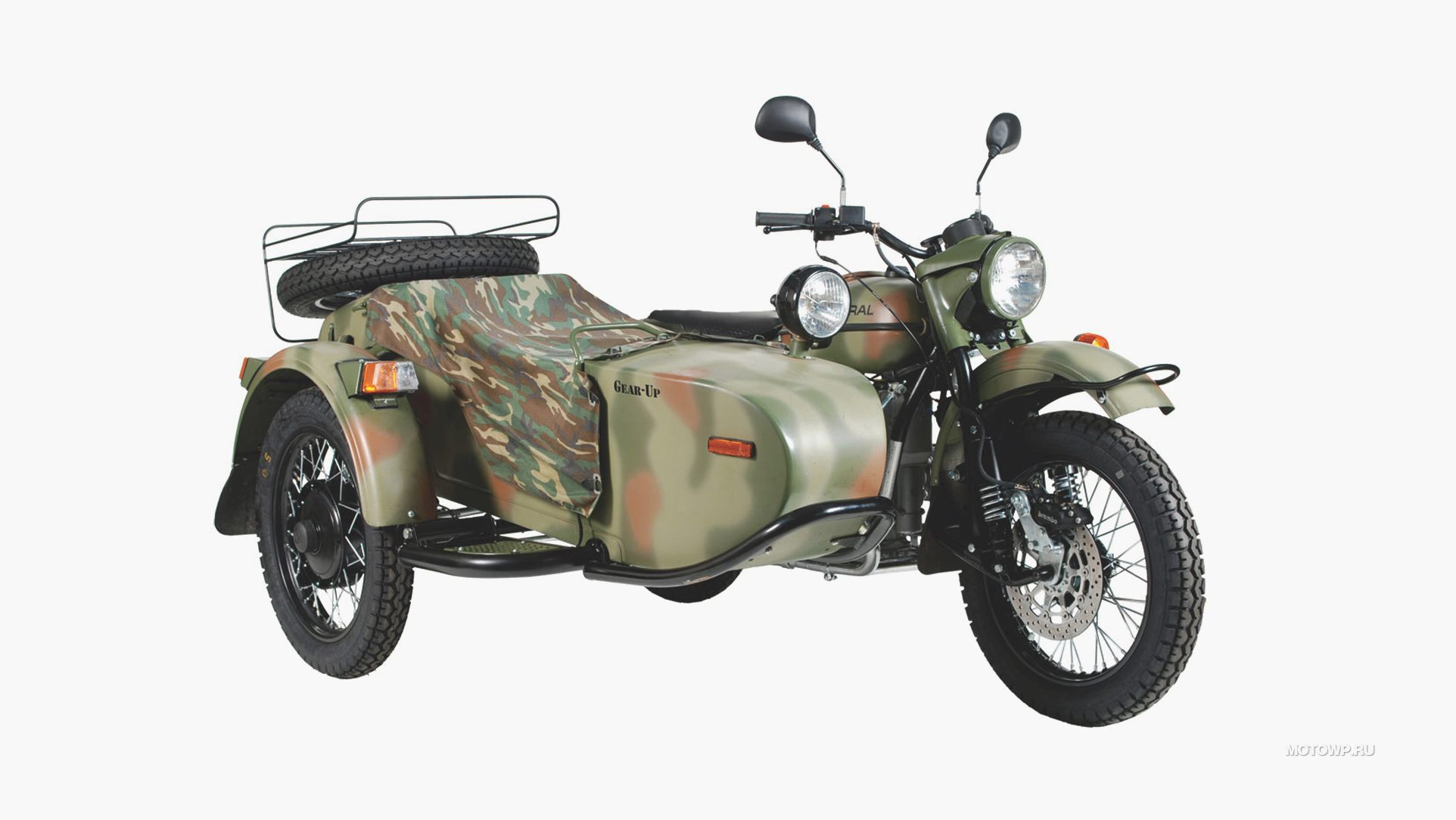 Ural M-63 with sidecar 1974 images #127429