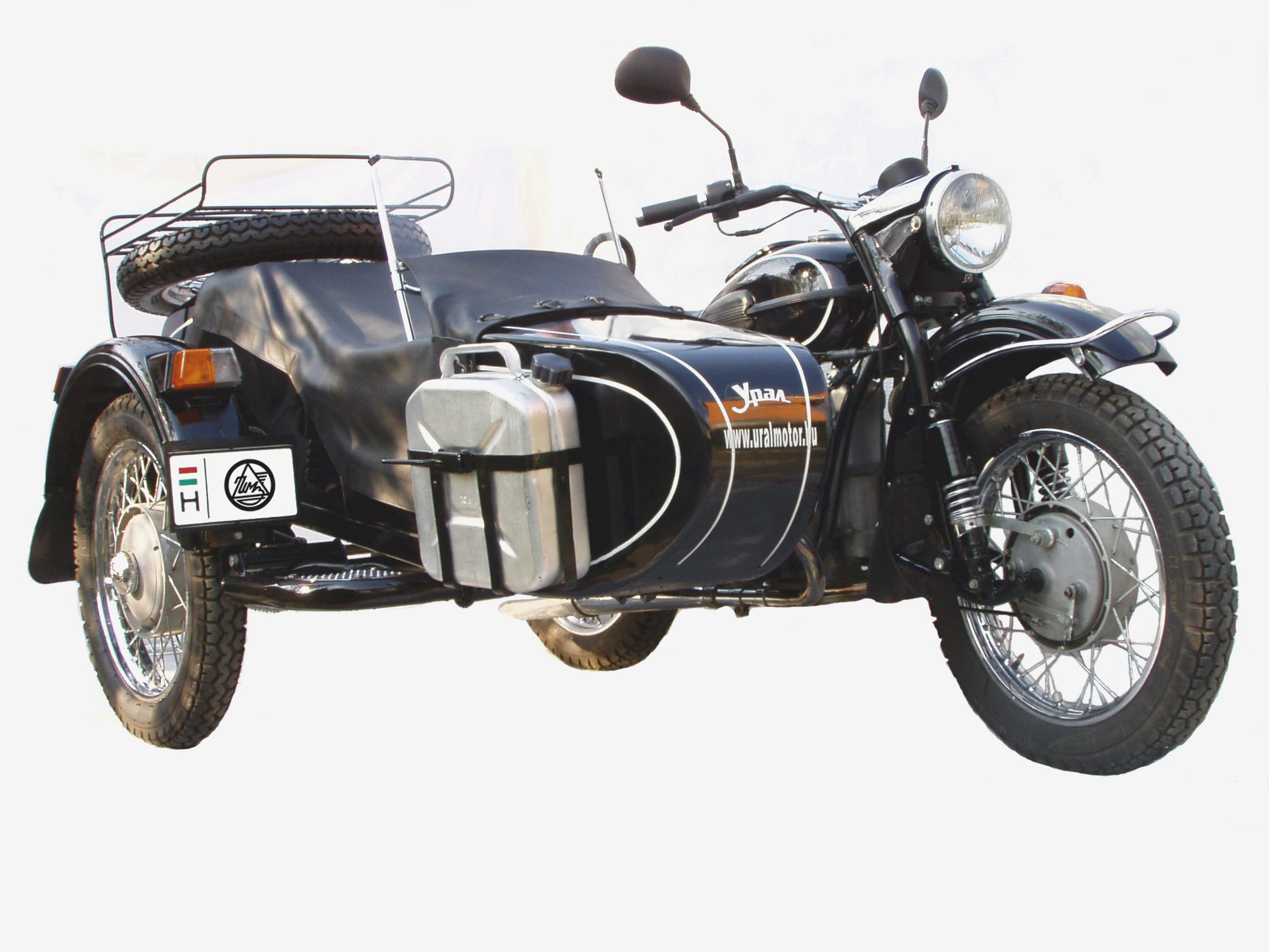 Ural M-63 with sidecar 1978 images #127232