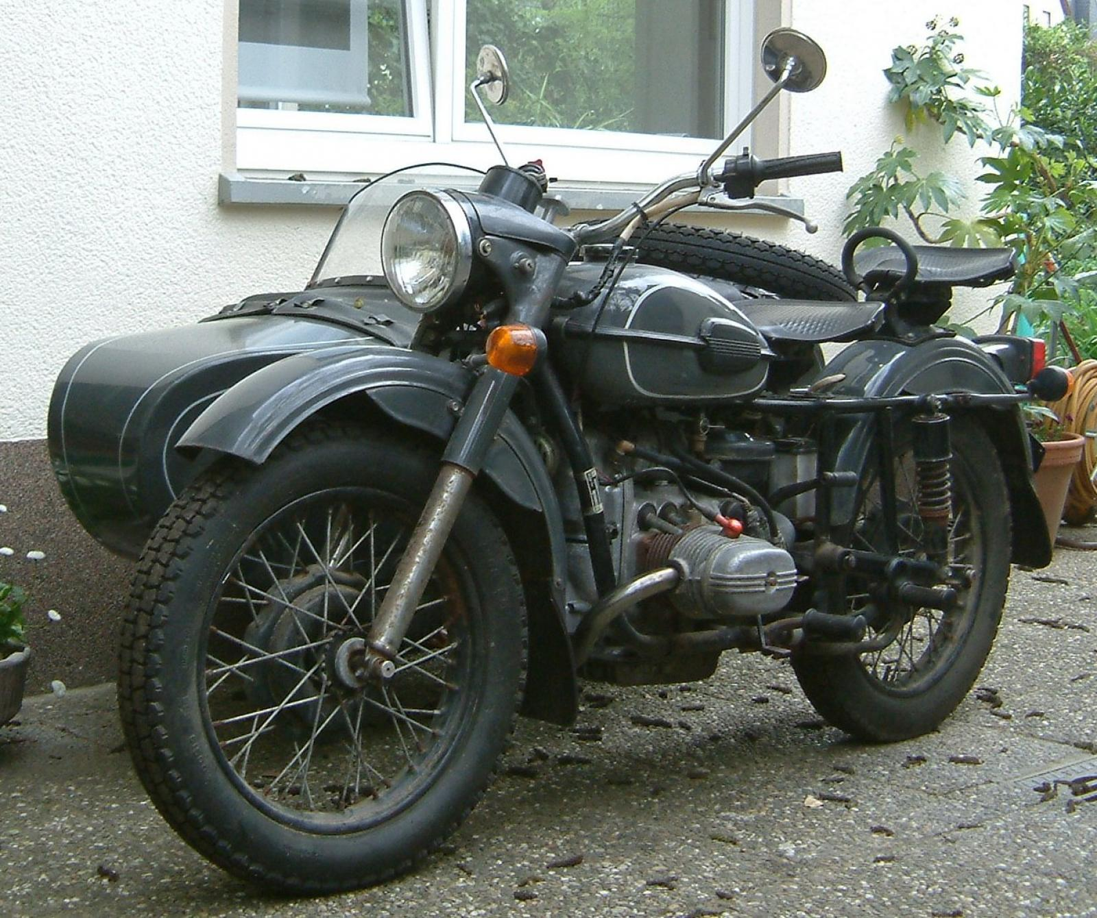 Ural M 67-6 with sidecar 1991 images #127330