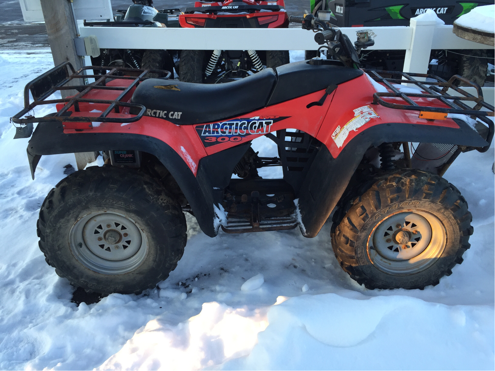arctic cat 300 4x4 pics specs and list of seriess by year. Black Bedroom Furniture Sets. Home Design Ideas
