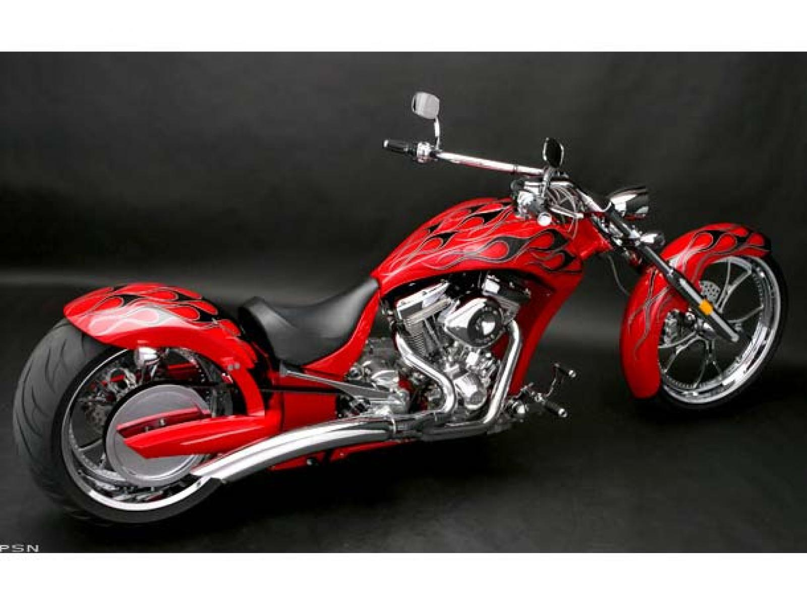 Big Bear Choppers Sled ProStreet 100 EFI 2009 wallpapers #136546
