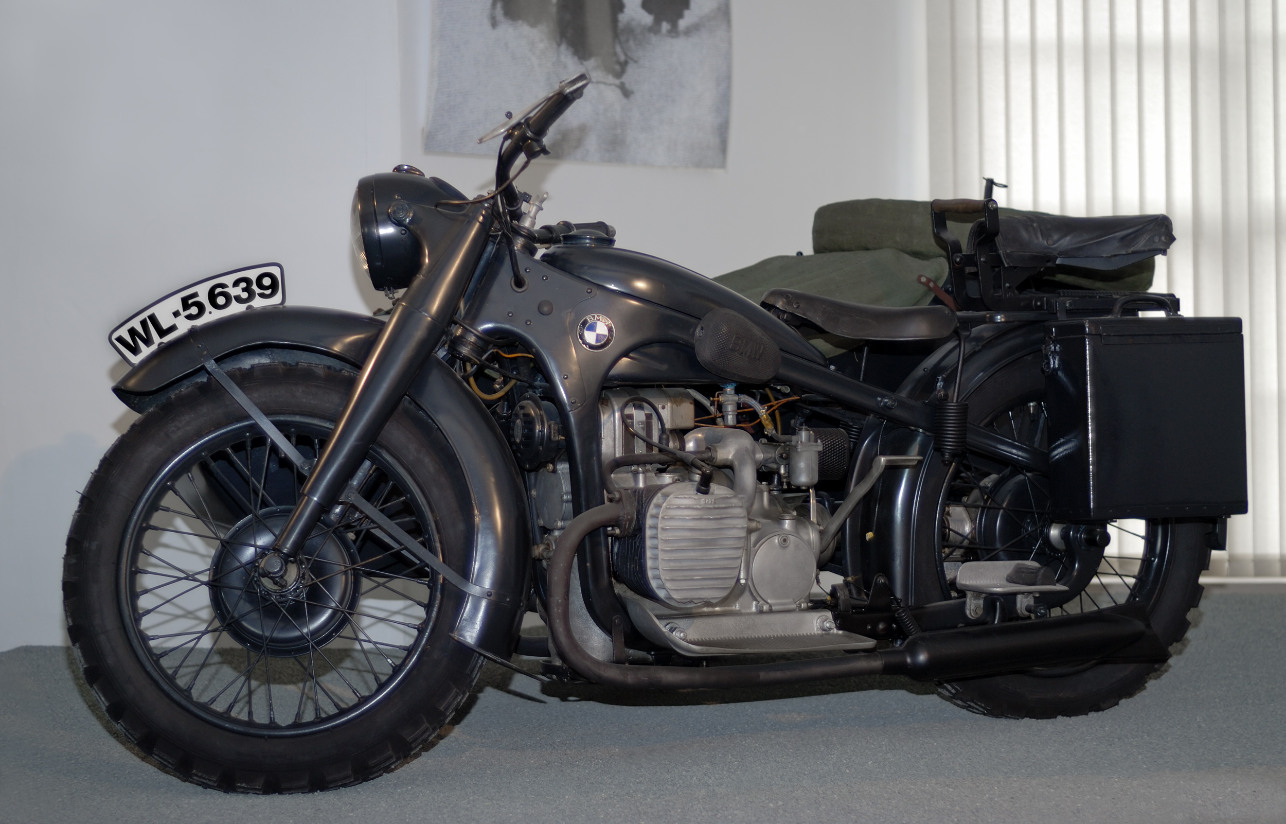 BMW R75 with sidecar images #146274