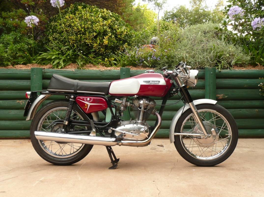Ducati 350 Mark 3 D 1971 images #9975