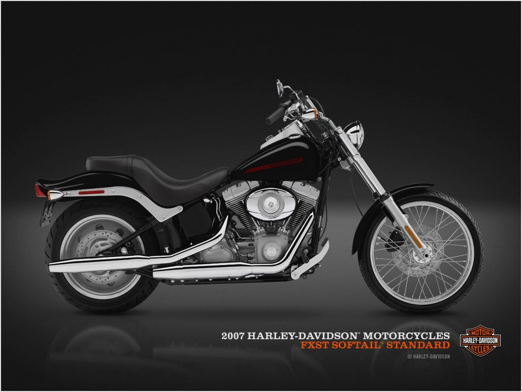 If you have your own good pictures of harley davidson fxst softail standard