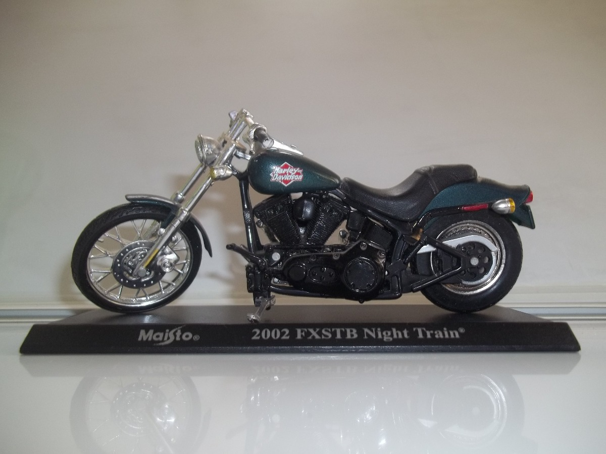 Harley-Davidson FXSTB Night Train 2002 pics #17827