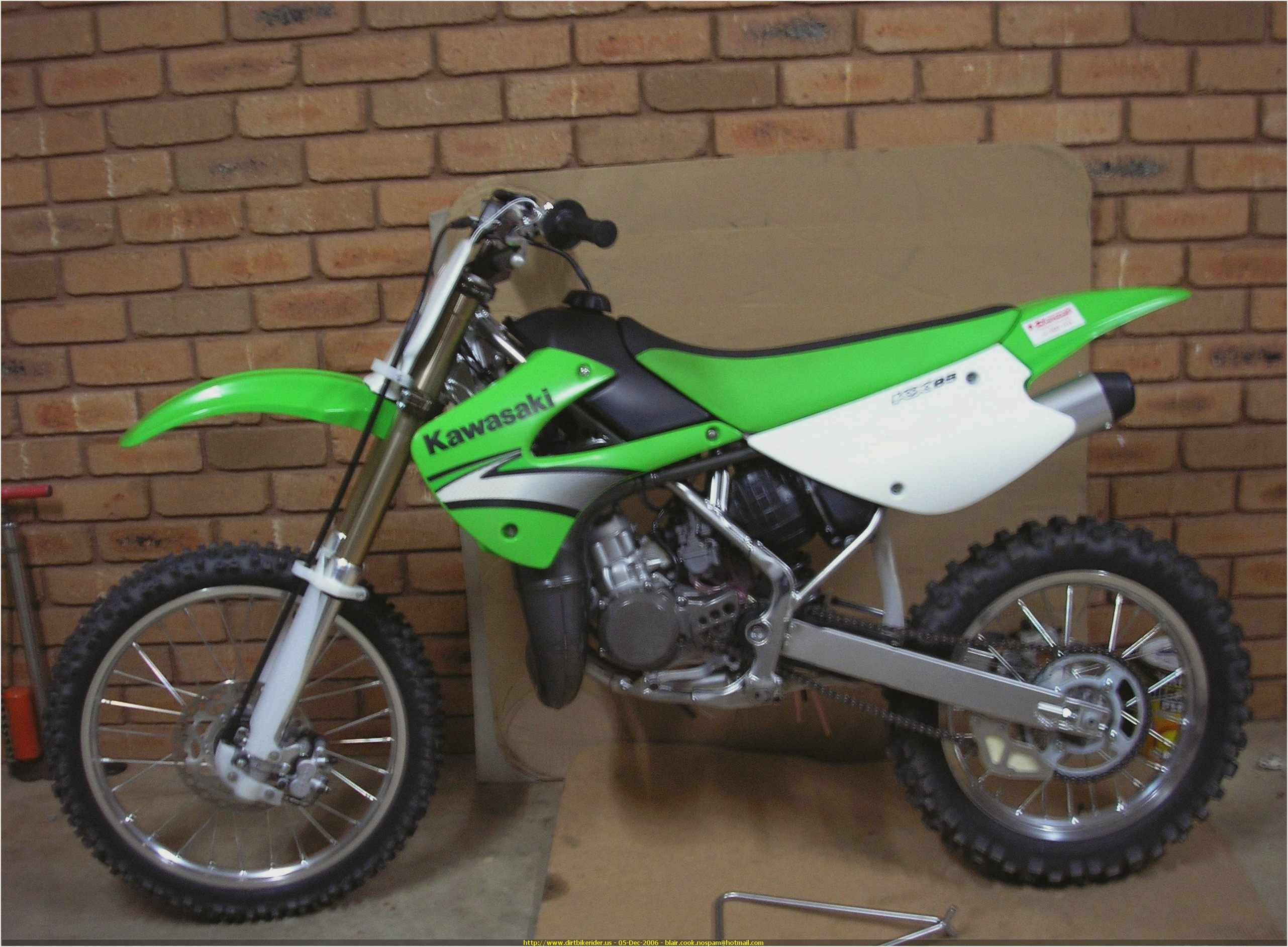 Kawasaki KX 85 II 2006 wallpapers #160551