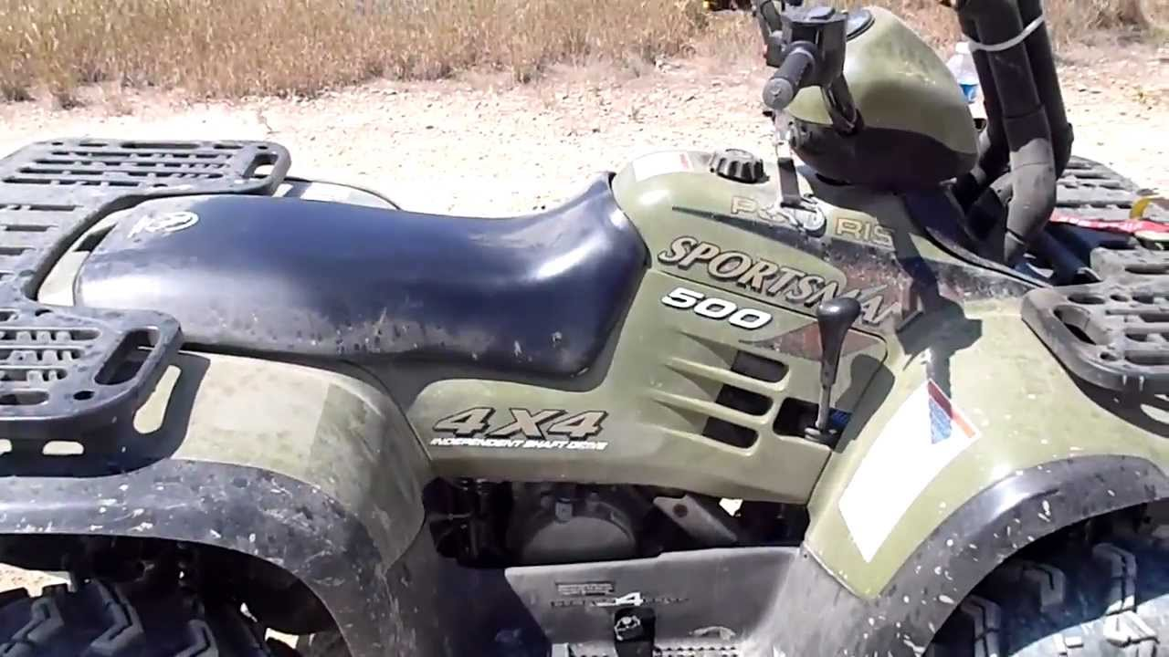 1997 polaris sportsman 500 h.o: pics specs and information