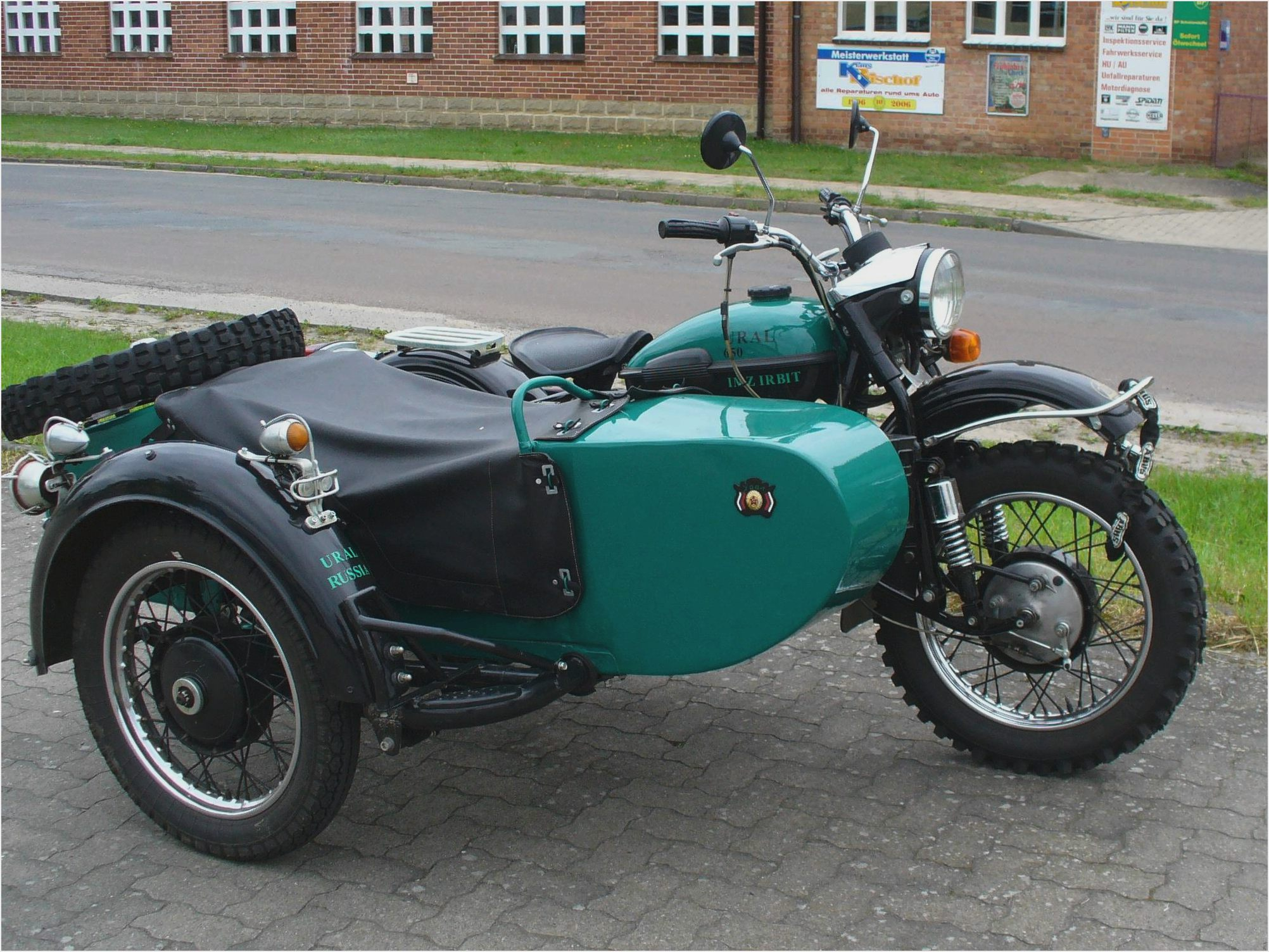 Ural M-63 with sidecar 1978 images #127233