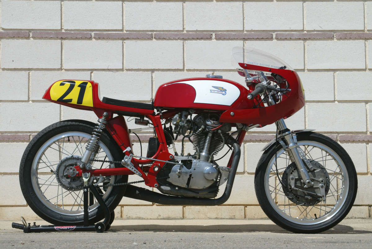 Ducati 350 Mark 3 D images #9972