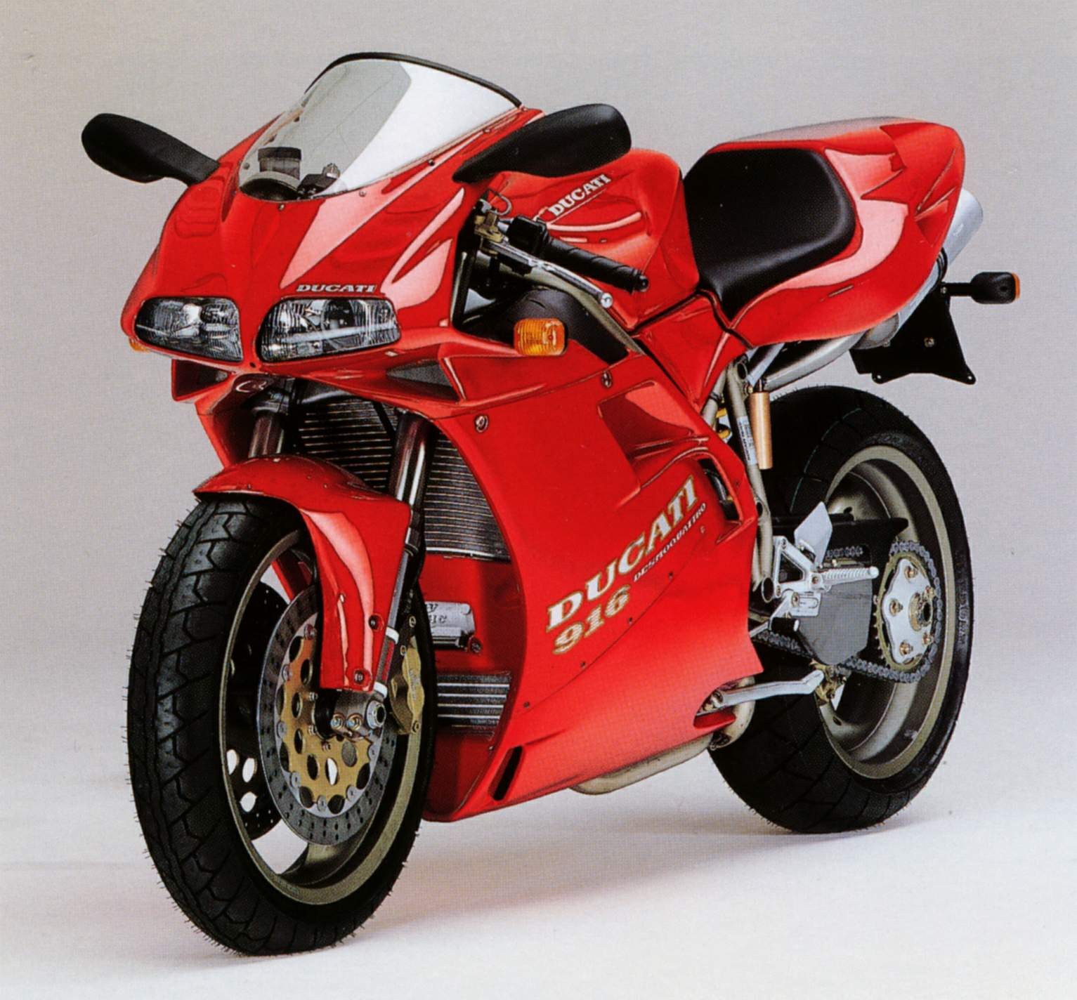 Ducati 916 Strada 1994 wallpapers #134073