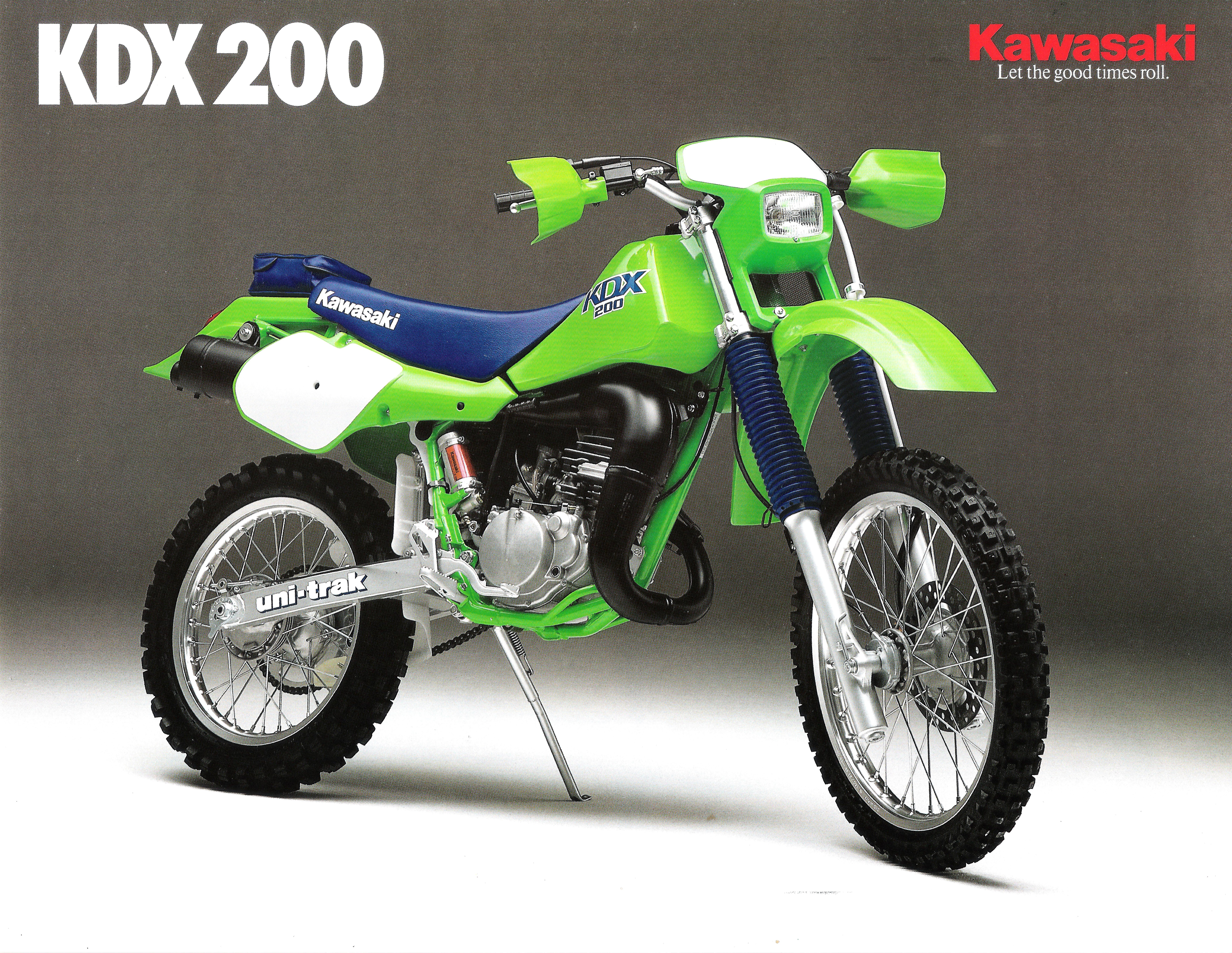 Kawasaki KMX 200 1987 wallpapers #142700