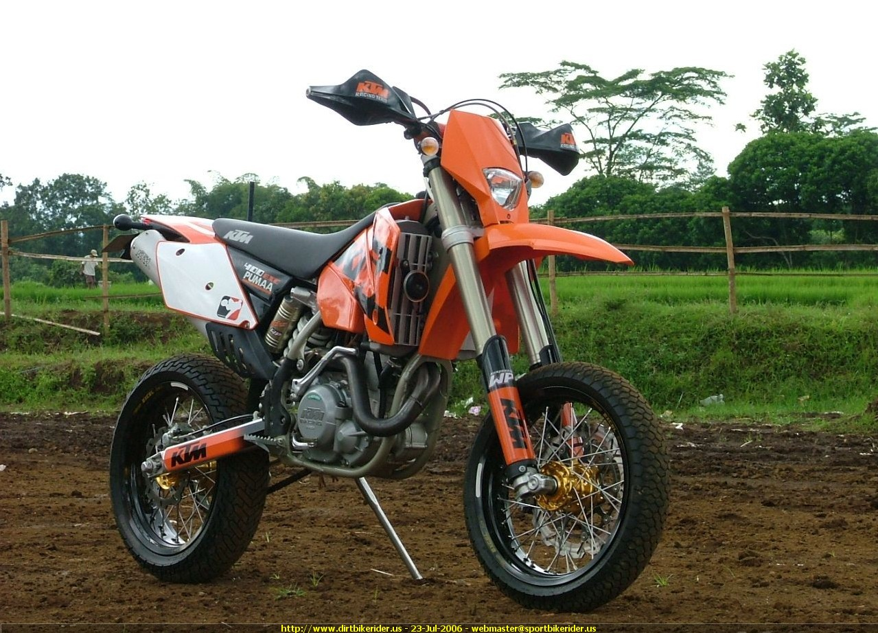 KTM 400 EXC Racing 2005 images #86414