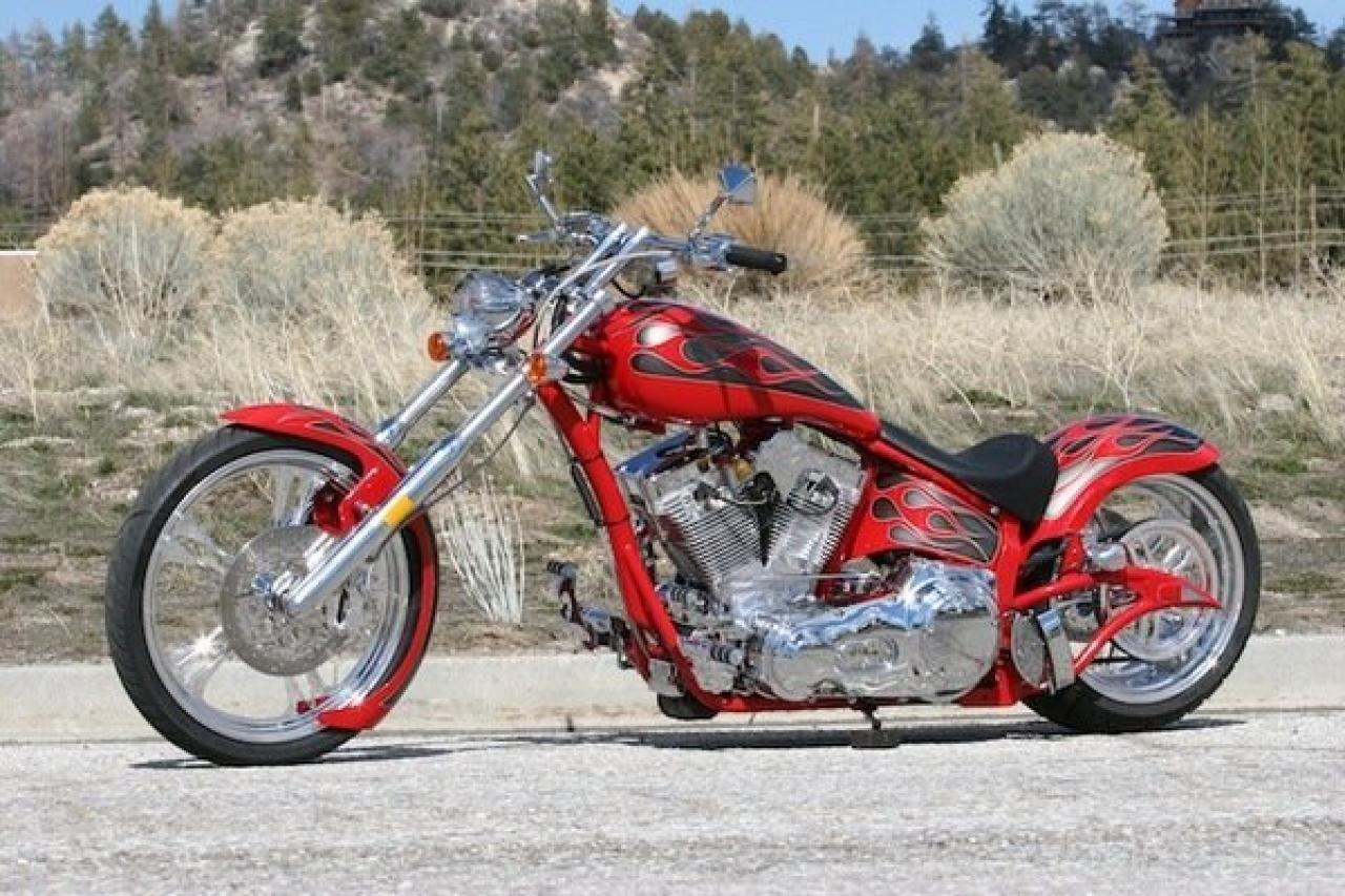Big Bear Choppers Venom 100 Smooth EFI 2010 images #63834