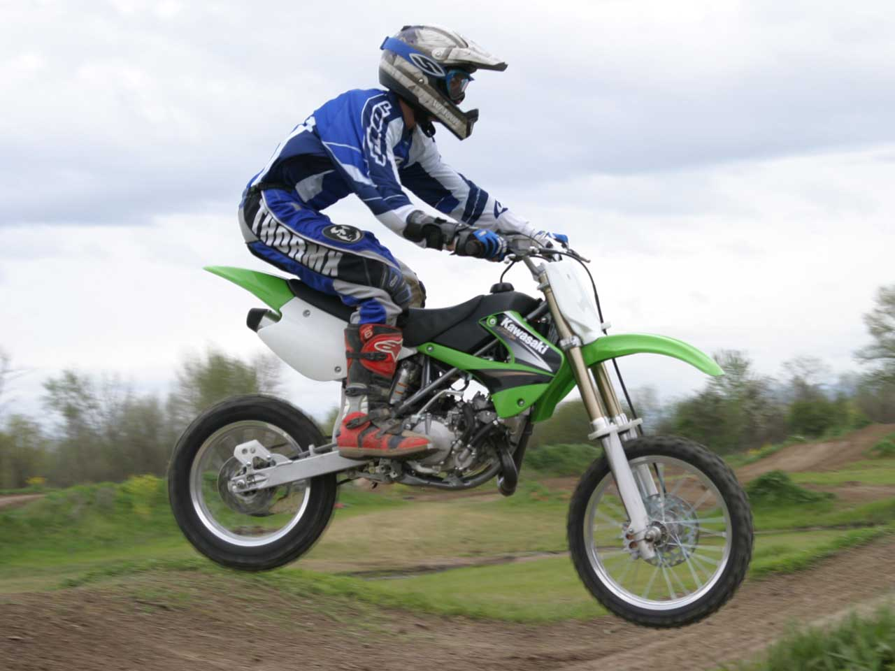 Kawasaki KX 85 II 2006 wallpapers #160553