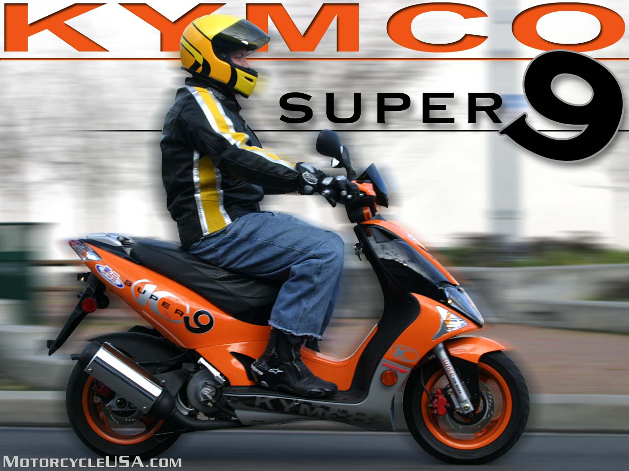 Kymco Scout ZX 50 2003 wallpapers #139232