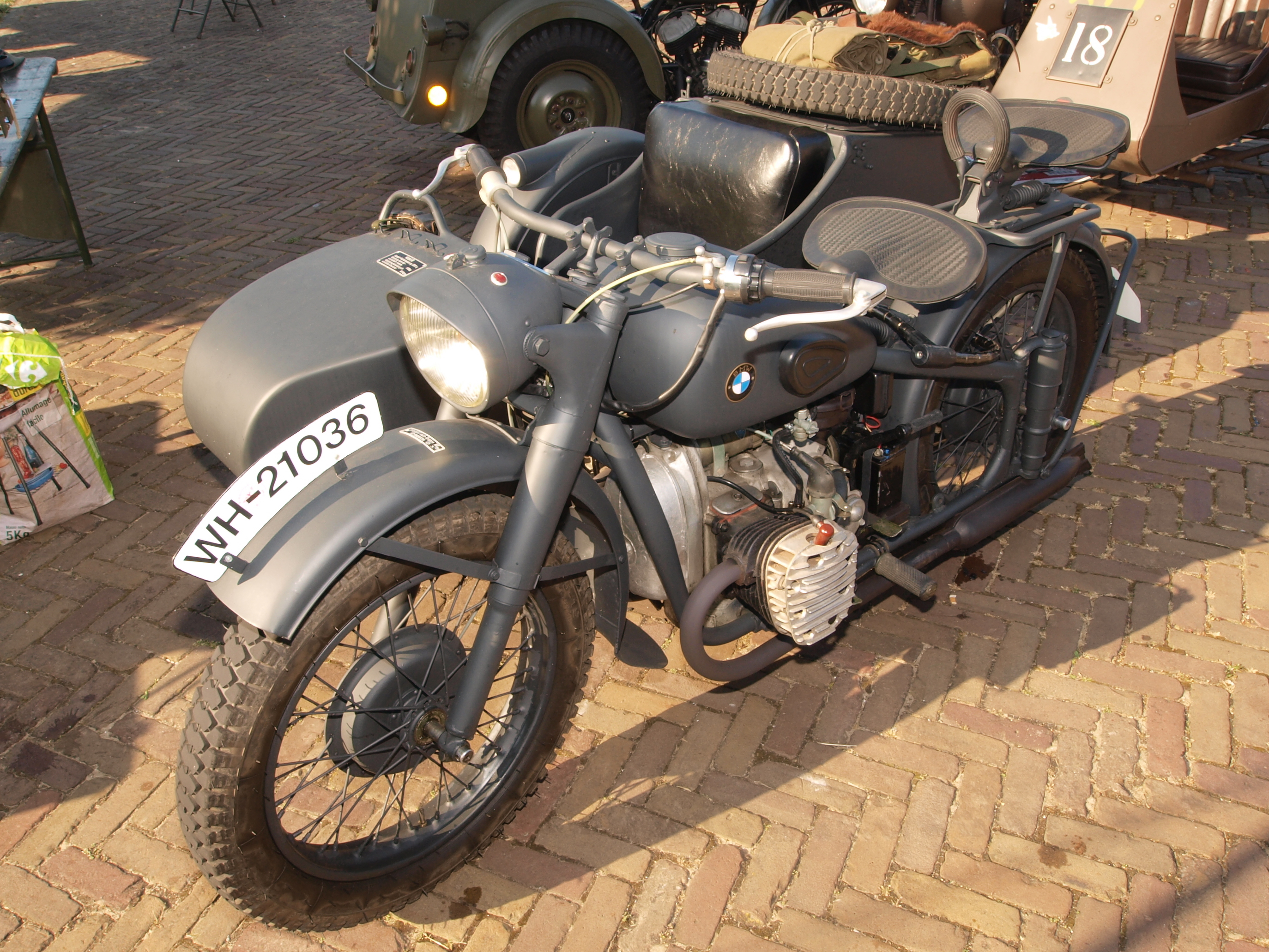 BMW R75 with sidecar images #146277