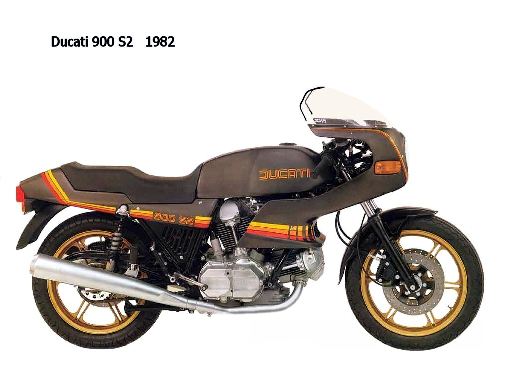 Ducati 900 SD Darmah 1980 wallpapers #154305