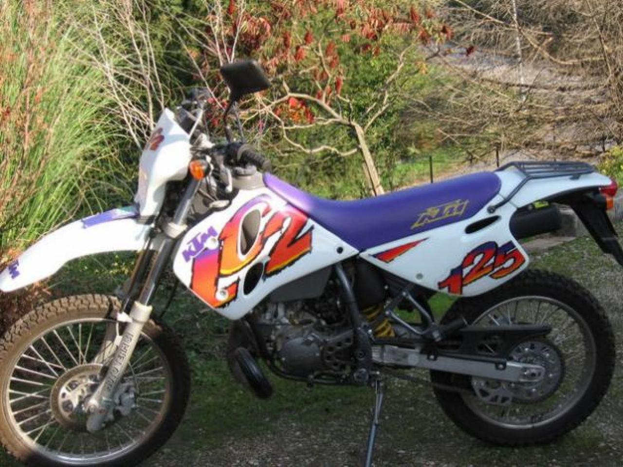 KTM 125 LC2 1998 wallpapers #162137