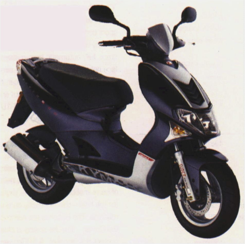 Kymco Scout ZX 50 2003 wallpapers #139233