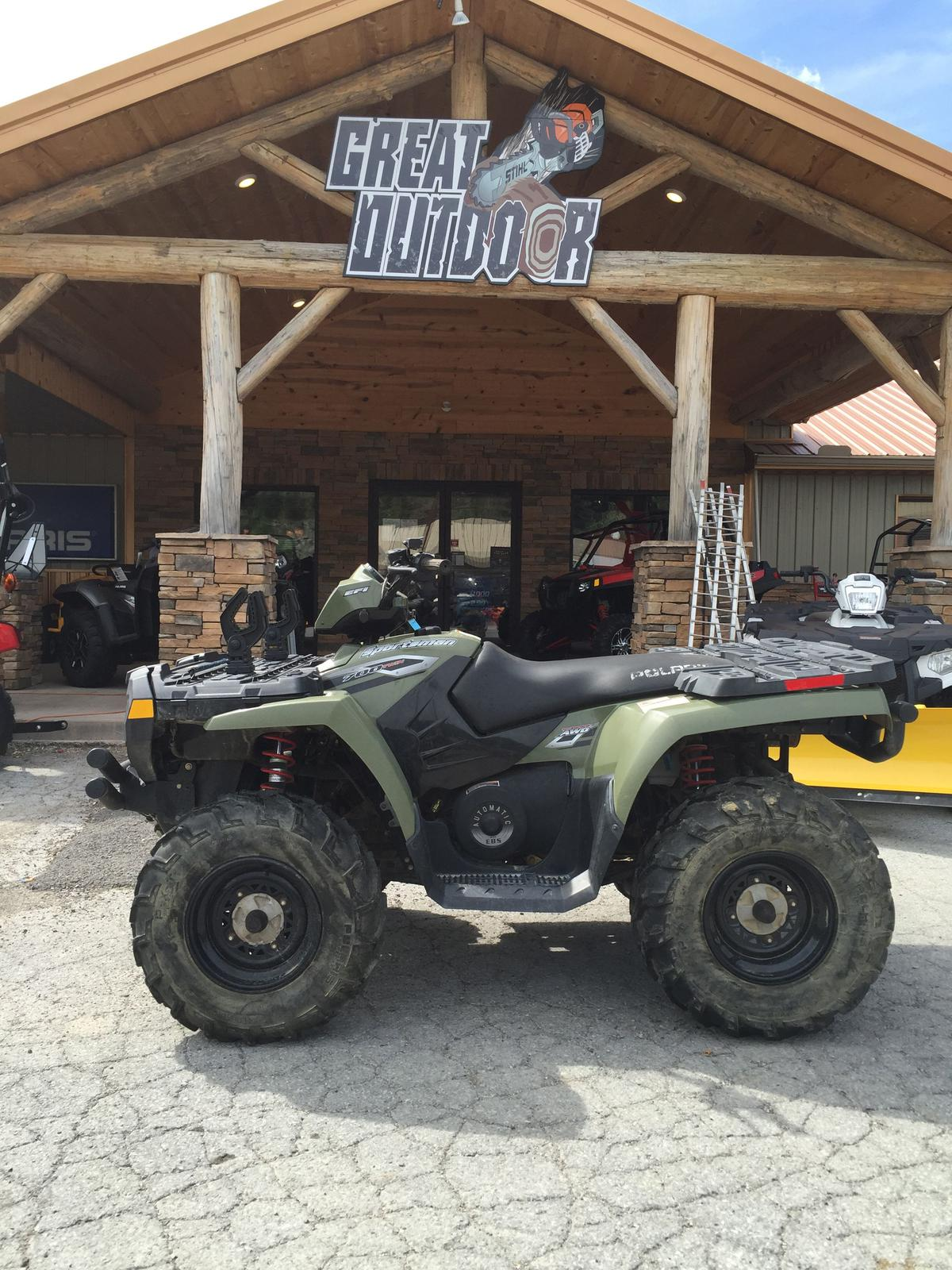 Polaris Sportsman 700 images #121224