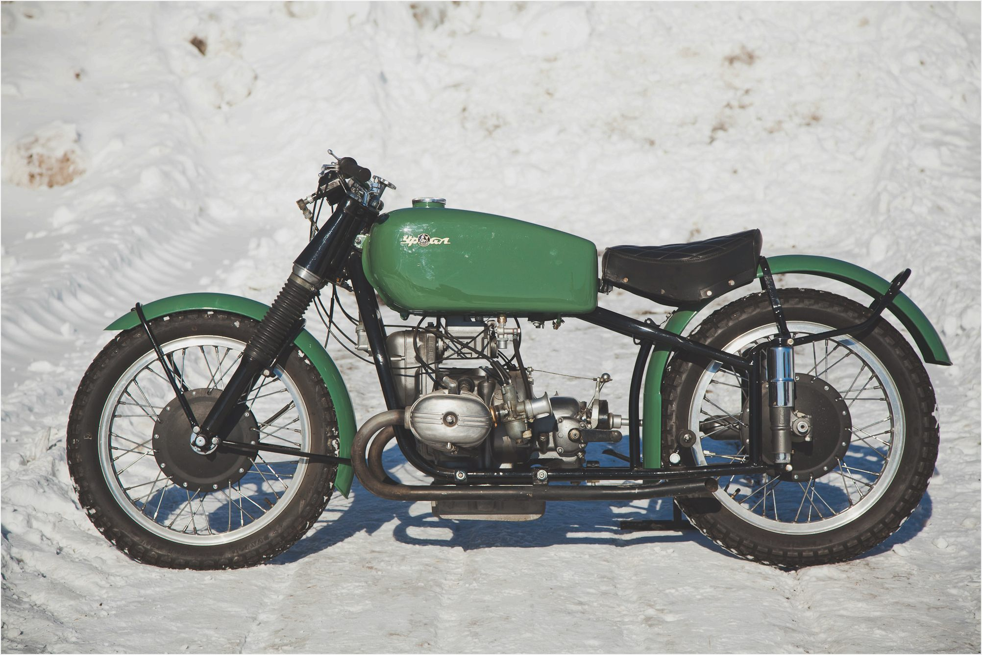 Ural M-63 with sidecar 1978 images #127236