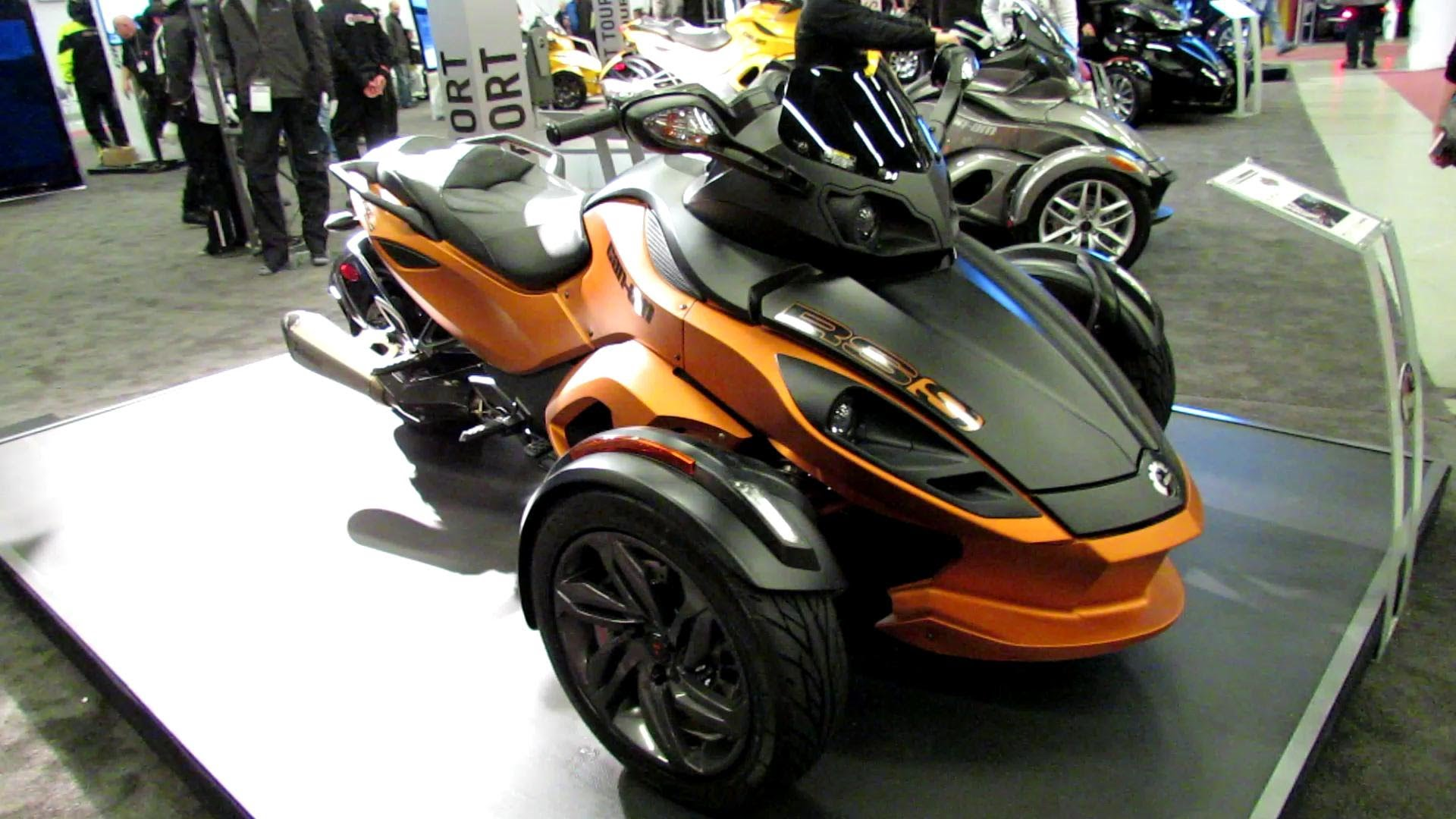 Can-Am Spyder RS-S 2014 images #153609