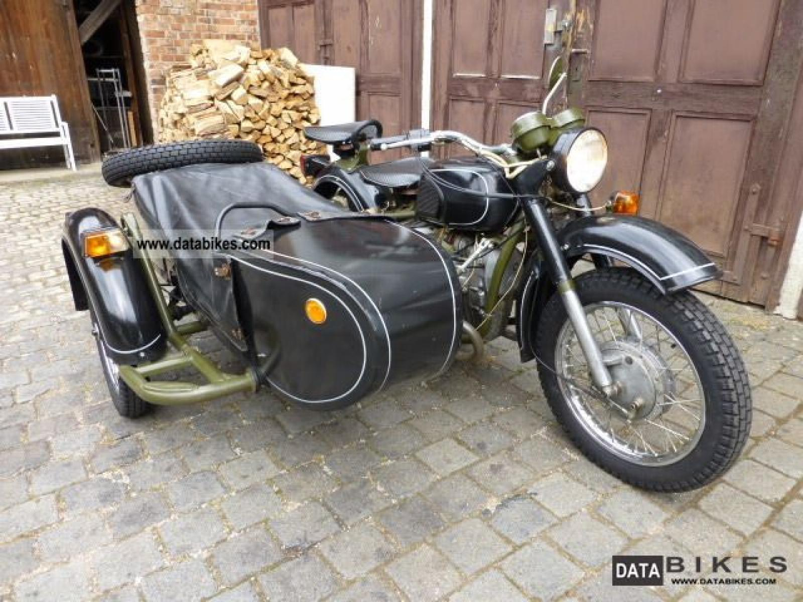 Dnepr MT 11 with sidecar 1986 images #72141