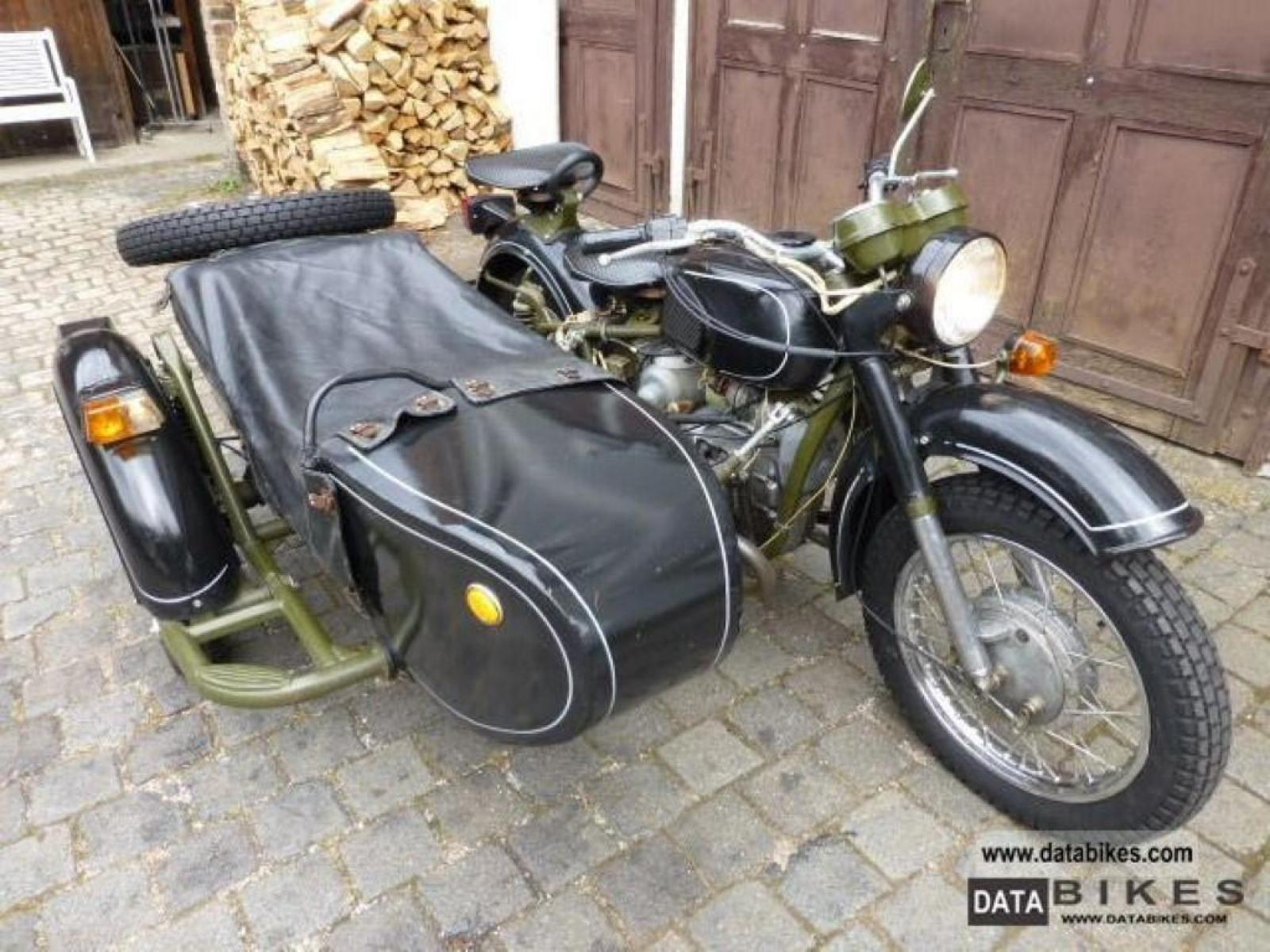 Dnepr MT 12 with sidecar 1983 images #95442