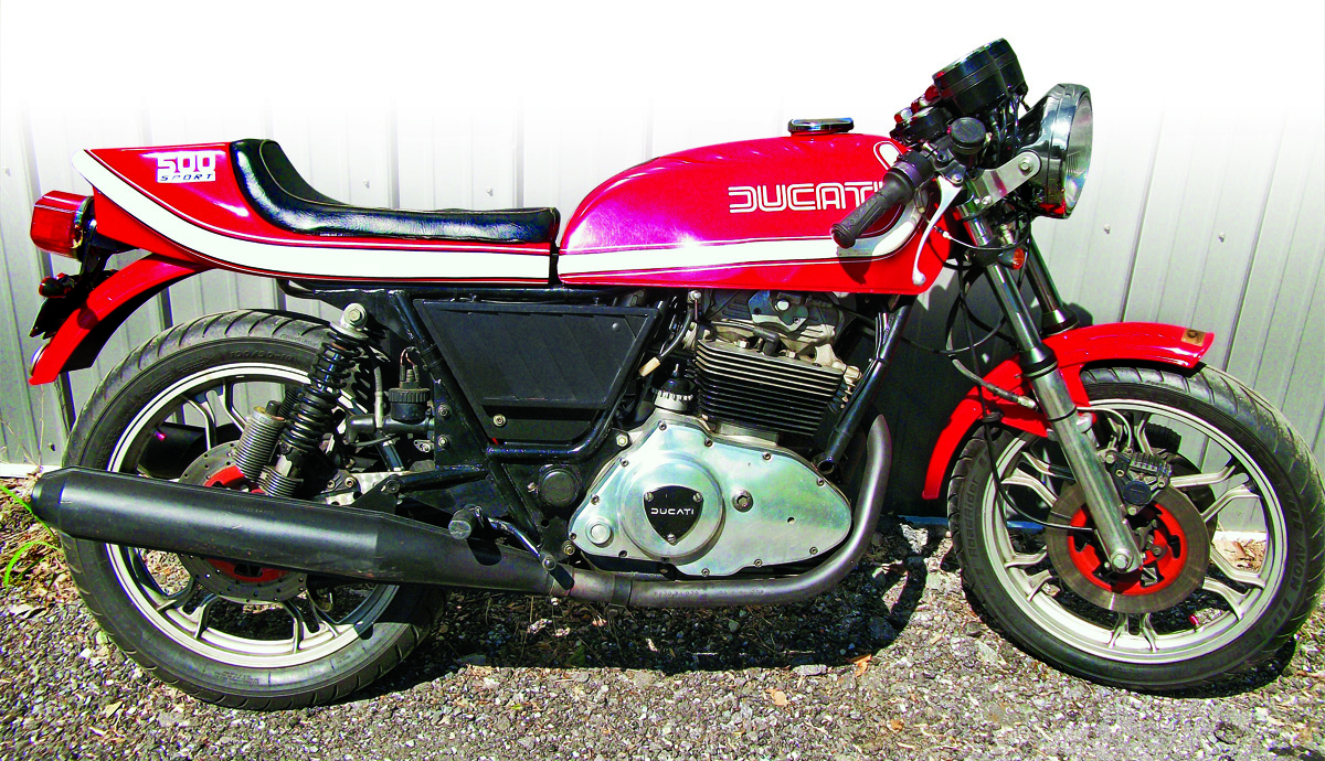 Ducati 350 GTV 1977 wallpapers #172455