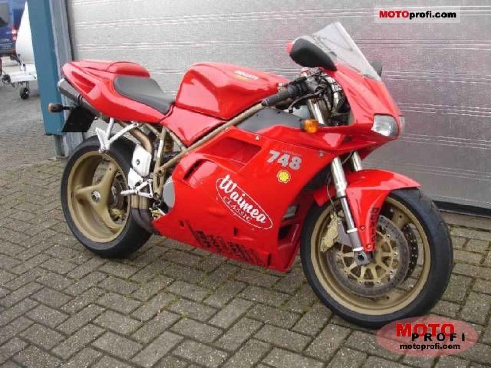 Ducati 748 Biposto 1996 wallpapers #14148