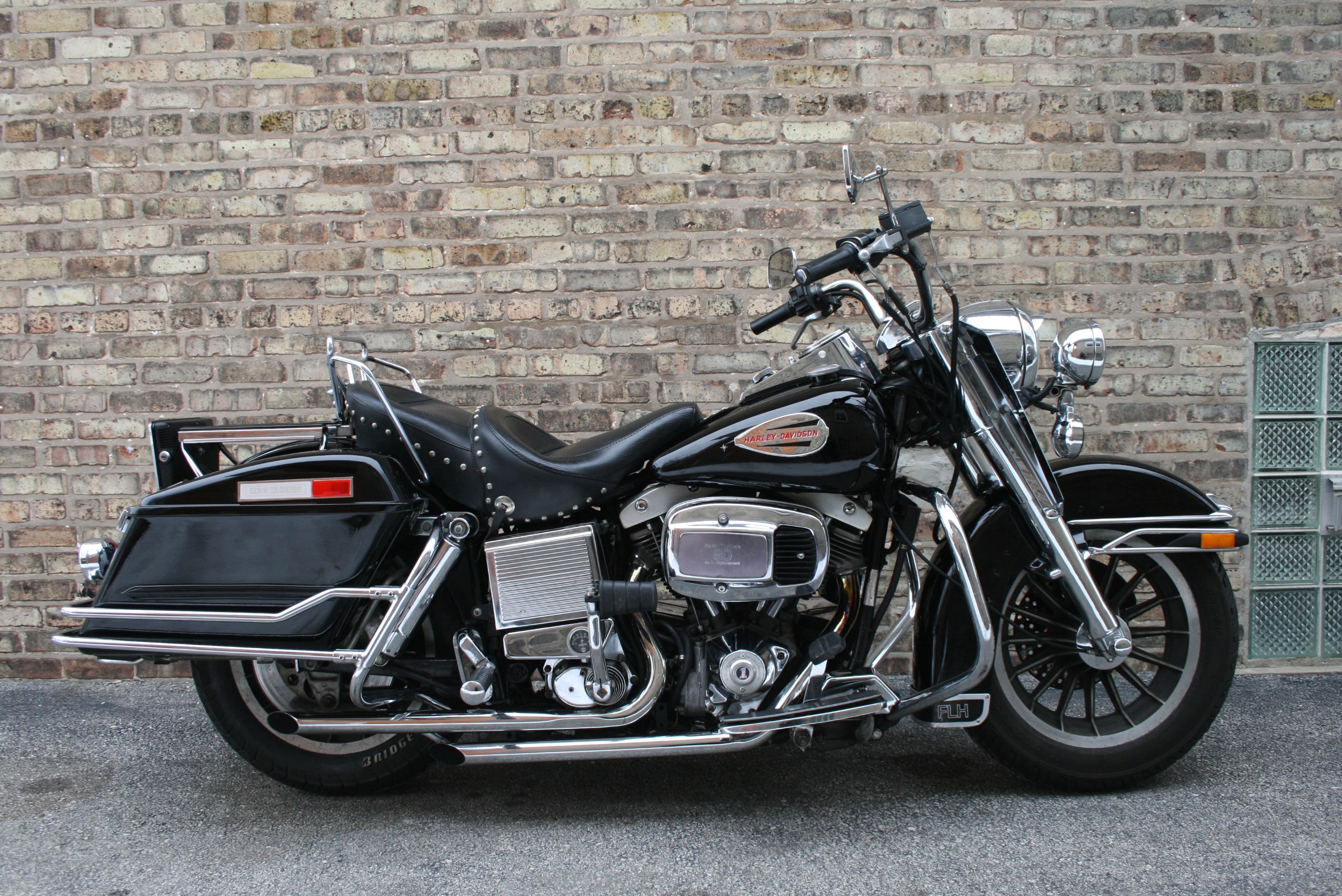 1982 Harley-Davidson FLH 1340 Electra Glide: pics, specs and ...