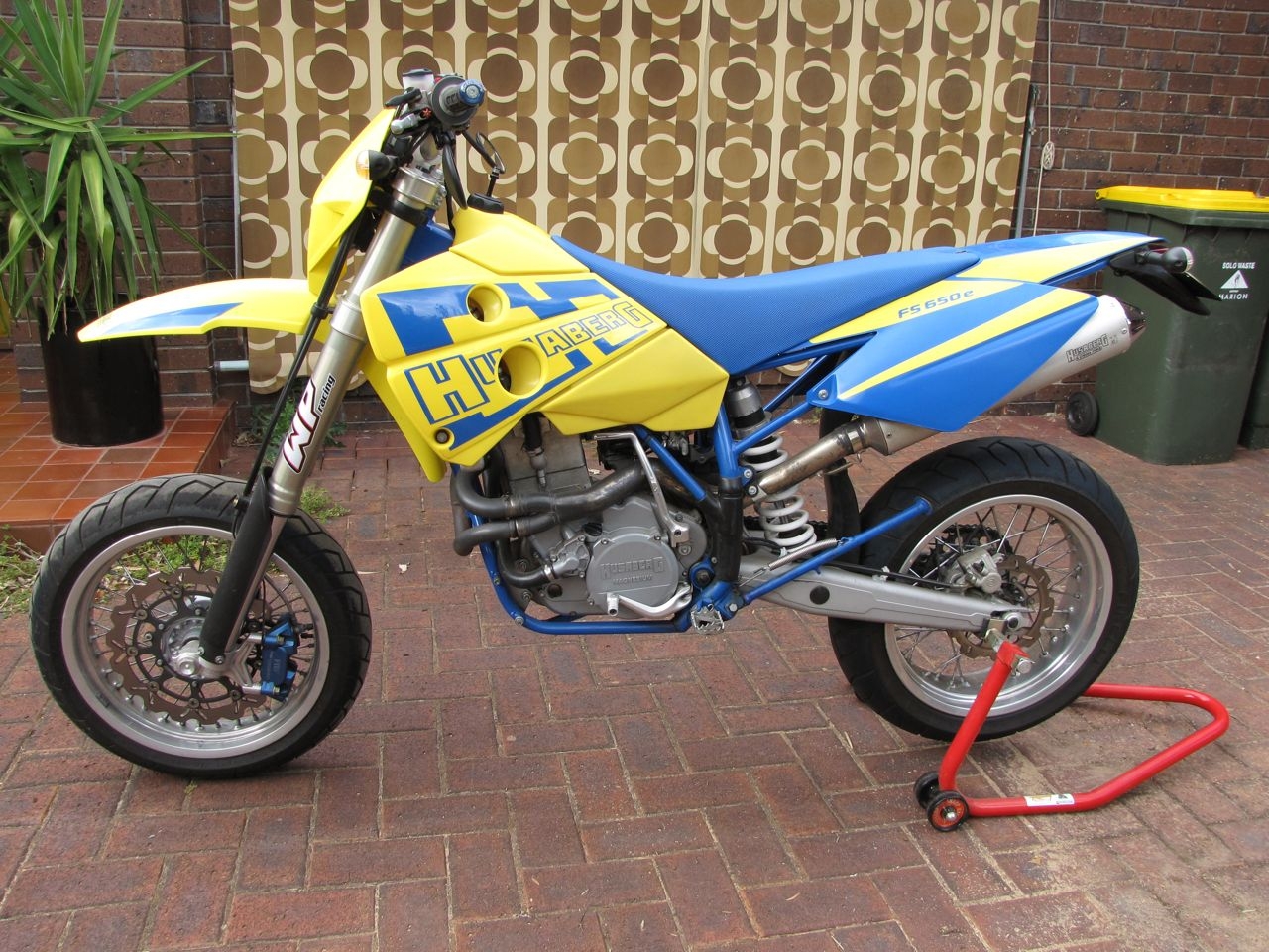 Husaberg FE 650 E 2005 wallpapers #137443