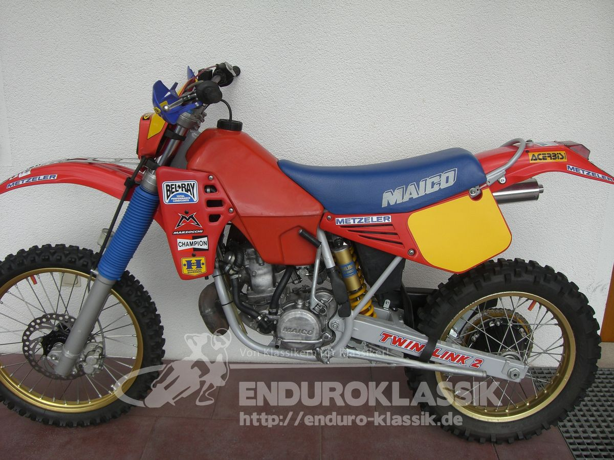 Maico GME 250 1984 images #102383