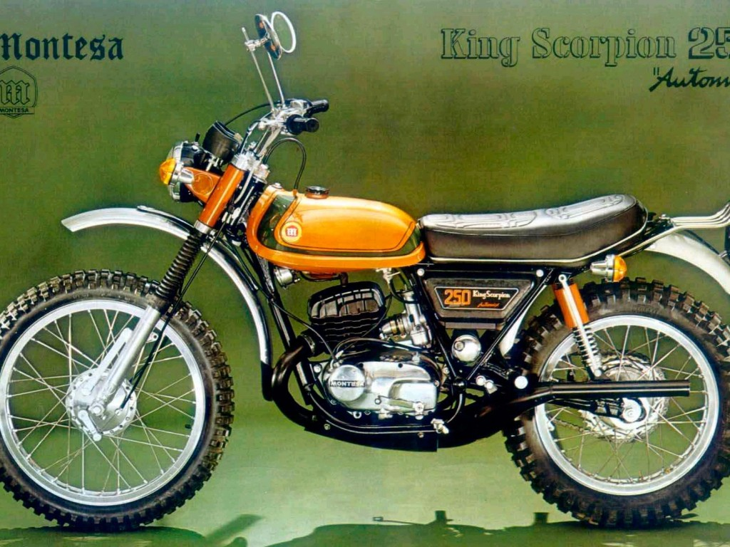 Montesa 250 King Scorpion 1974 images #105737