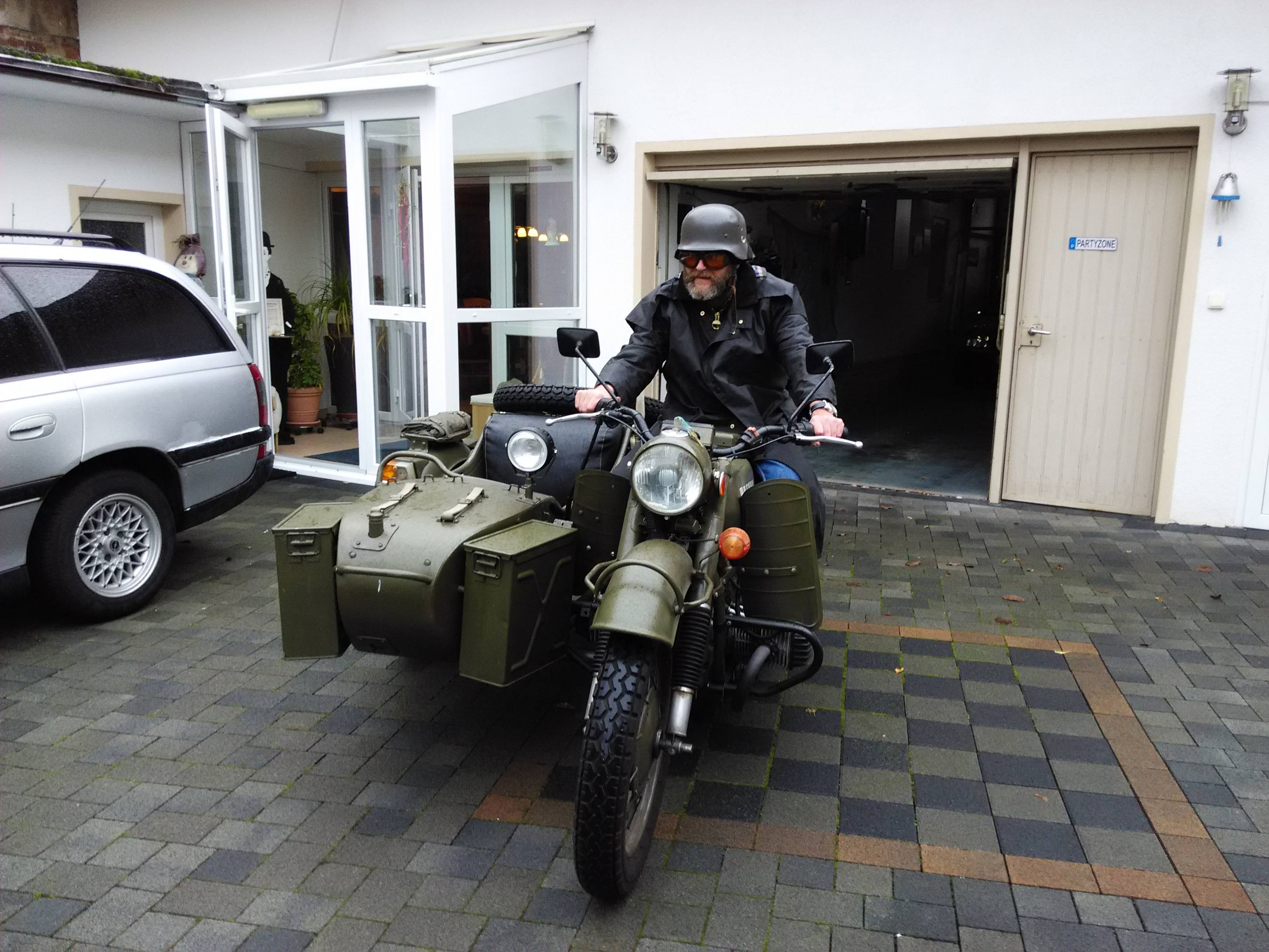 Ural M-63 with sidecar 1974 images #127434