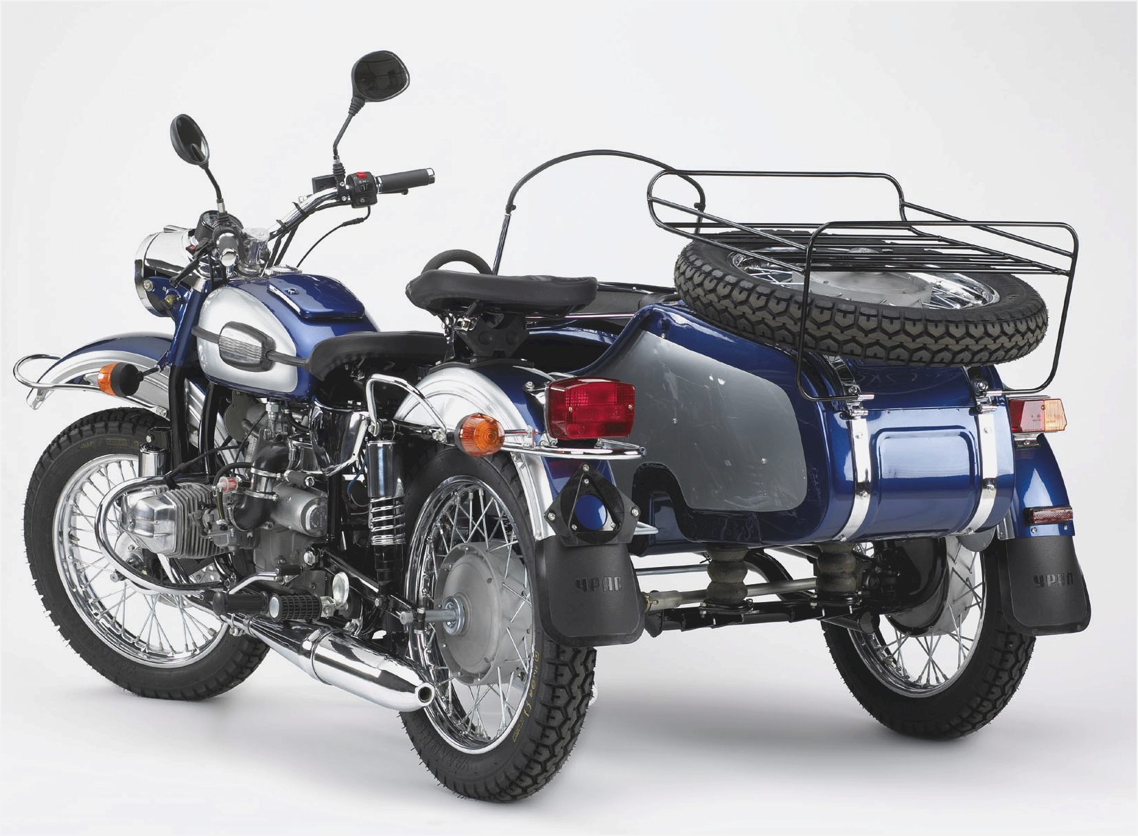 Ural M-63 with sidecar 1978 images #127237