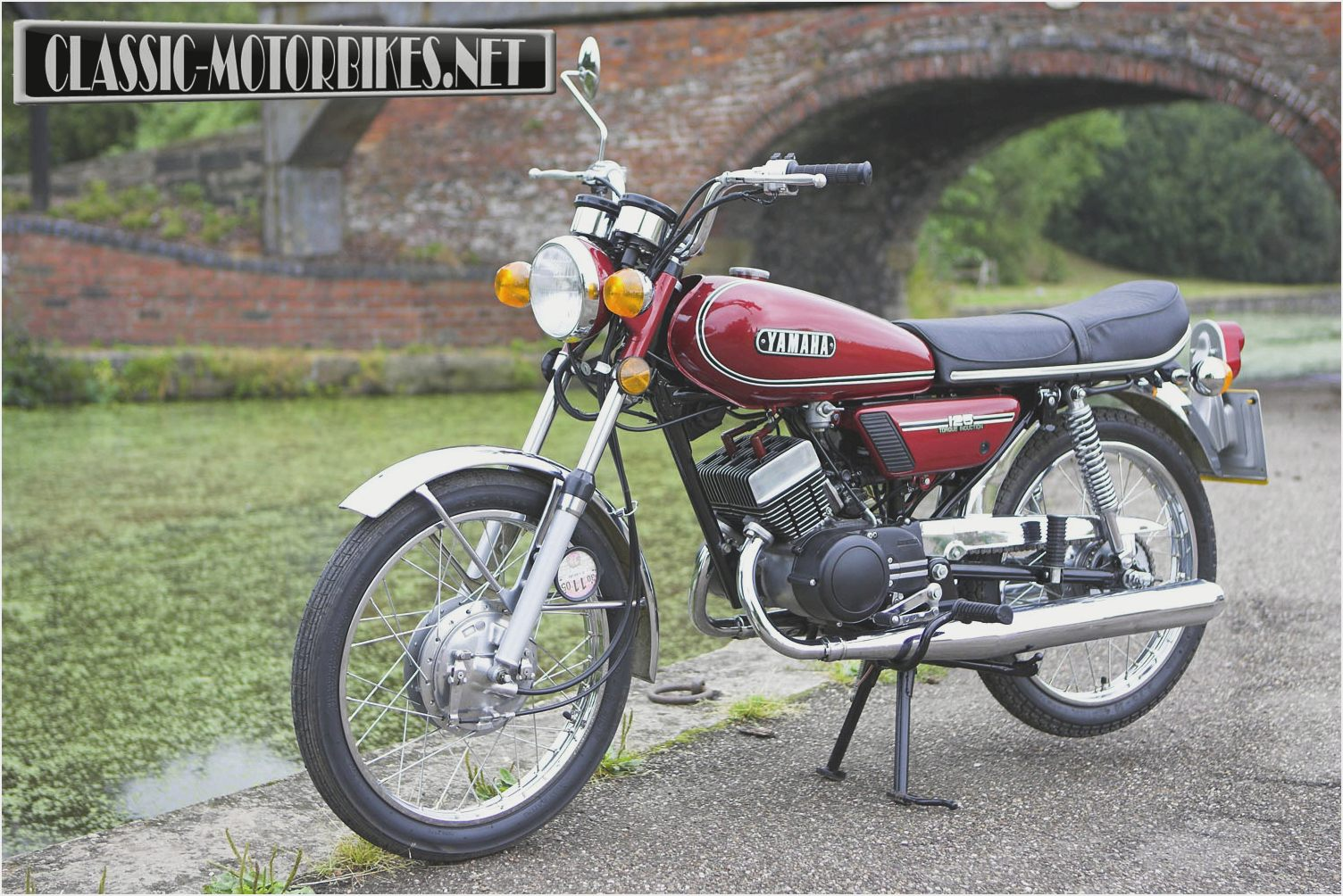 1974 yamaha dt 125 e pics specs and information. Black Bedroom Furniture Sets. Home Design Ideas