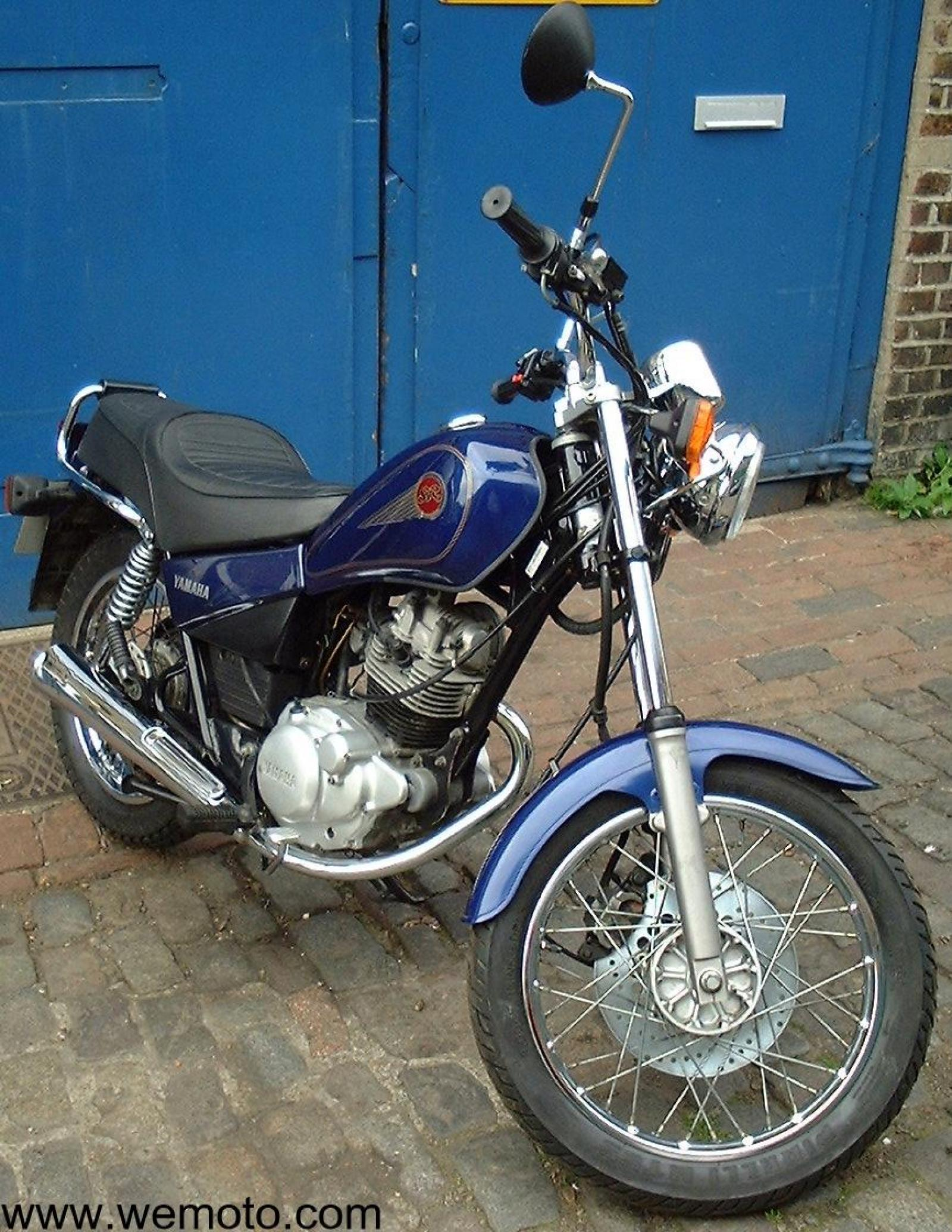 1985 yamaha sr 125 pics specs and information. Black Bedroom Furniture Sets. Home Design Ideas