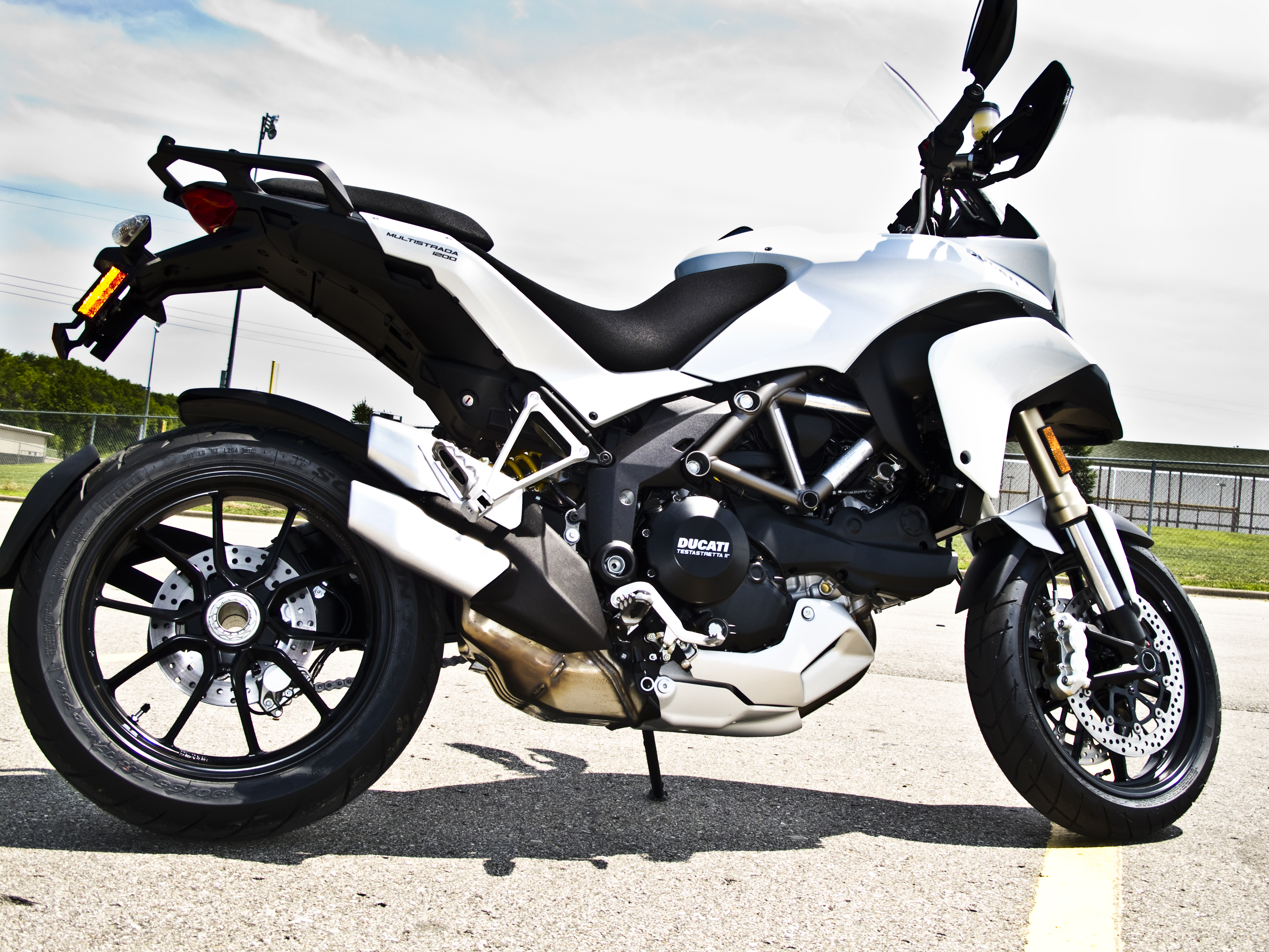 Ducati Multistrada 1200 S Touring wallpapers #163429