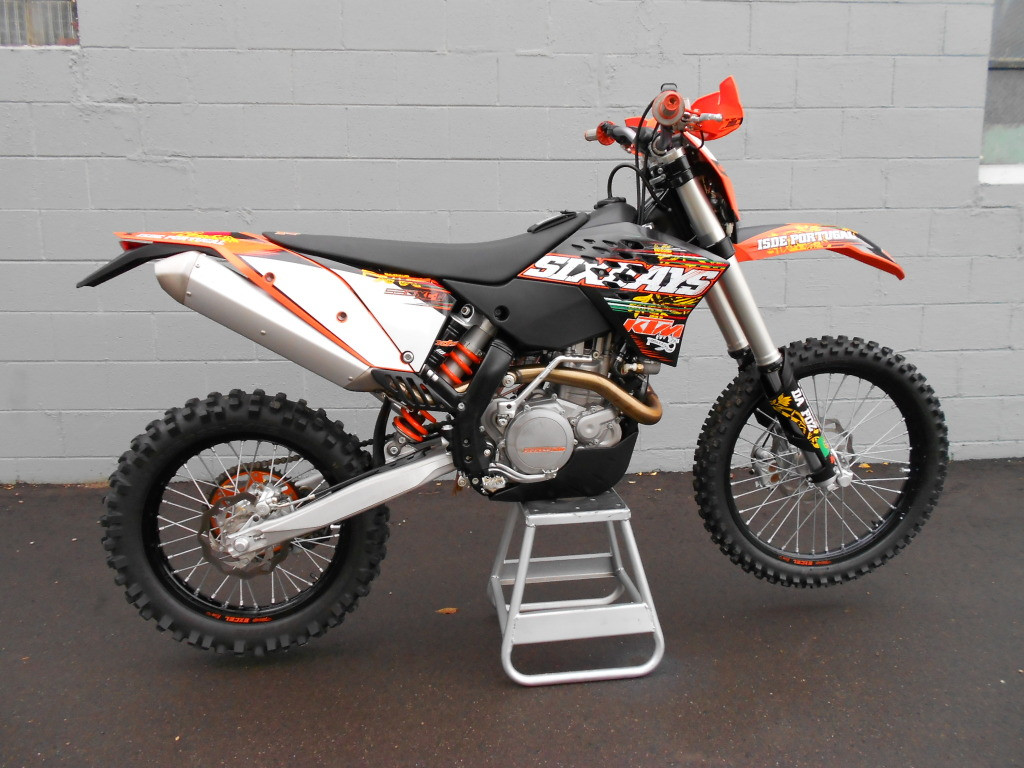 ktm 450 exc sixdays pics specs and list of seriess by. Black Bedroom Furniture Sets. Home Design Ideas